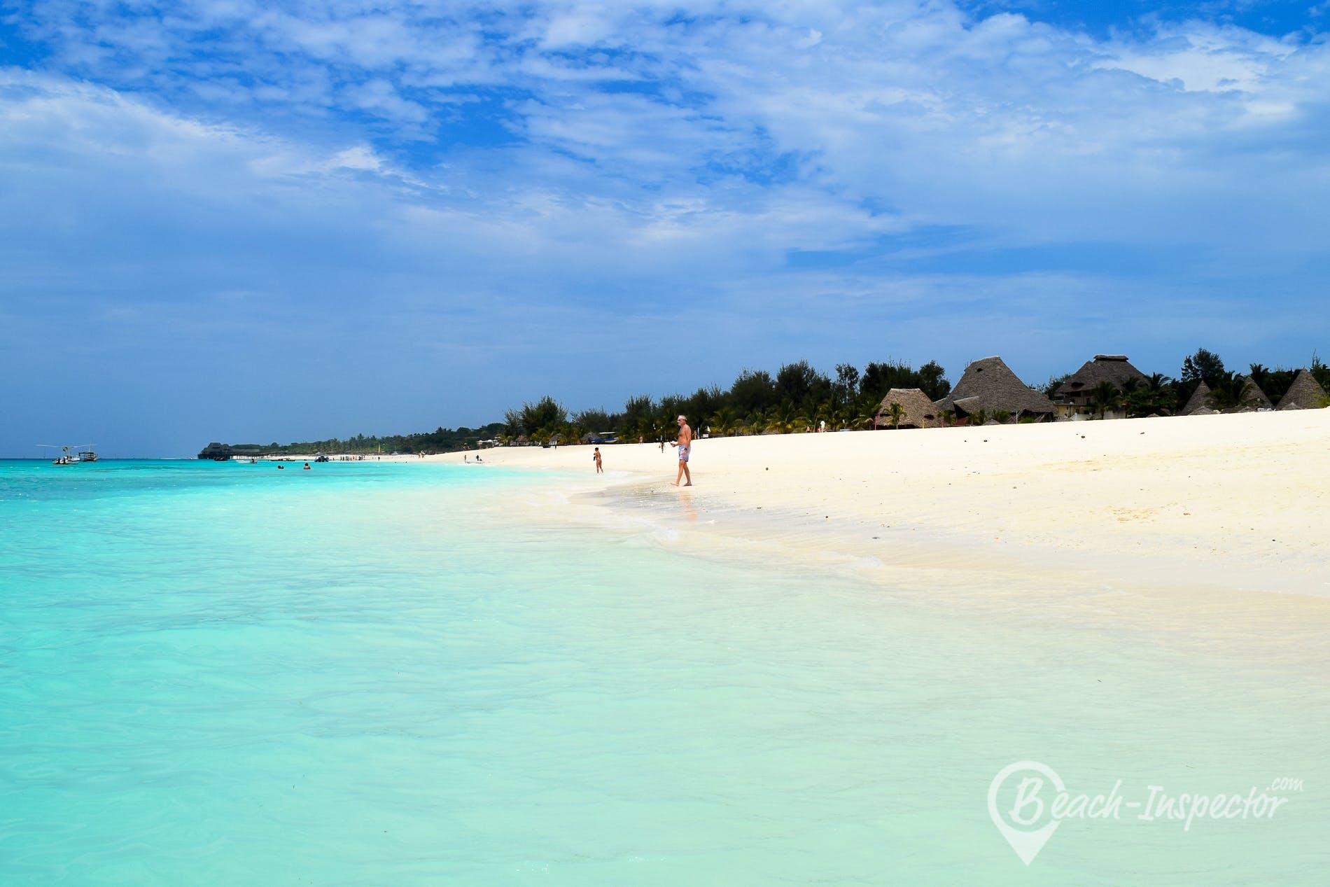 Beach Kendwa Beach, Zanzibar,
