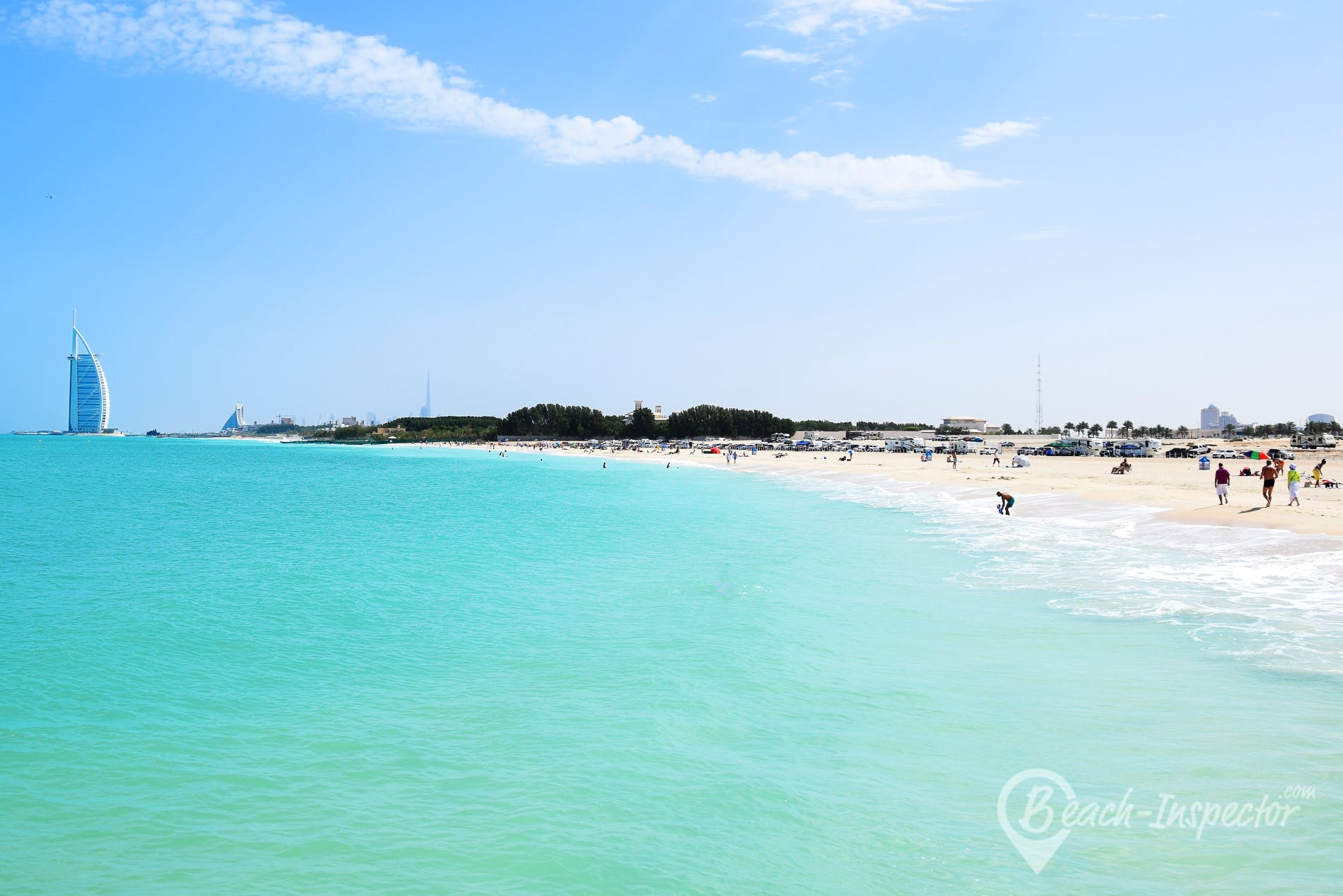 Playa Al Sufouh Beach, Dubái,