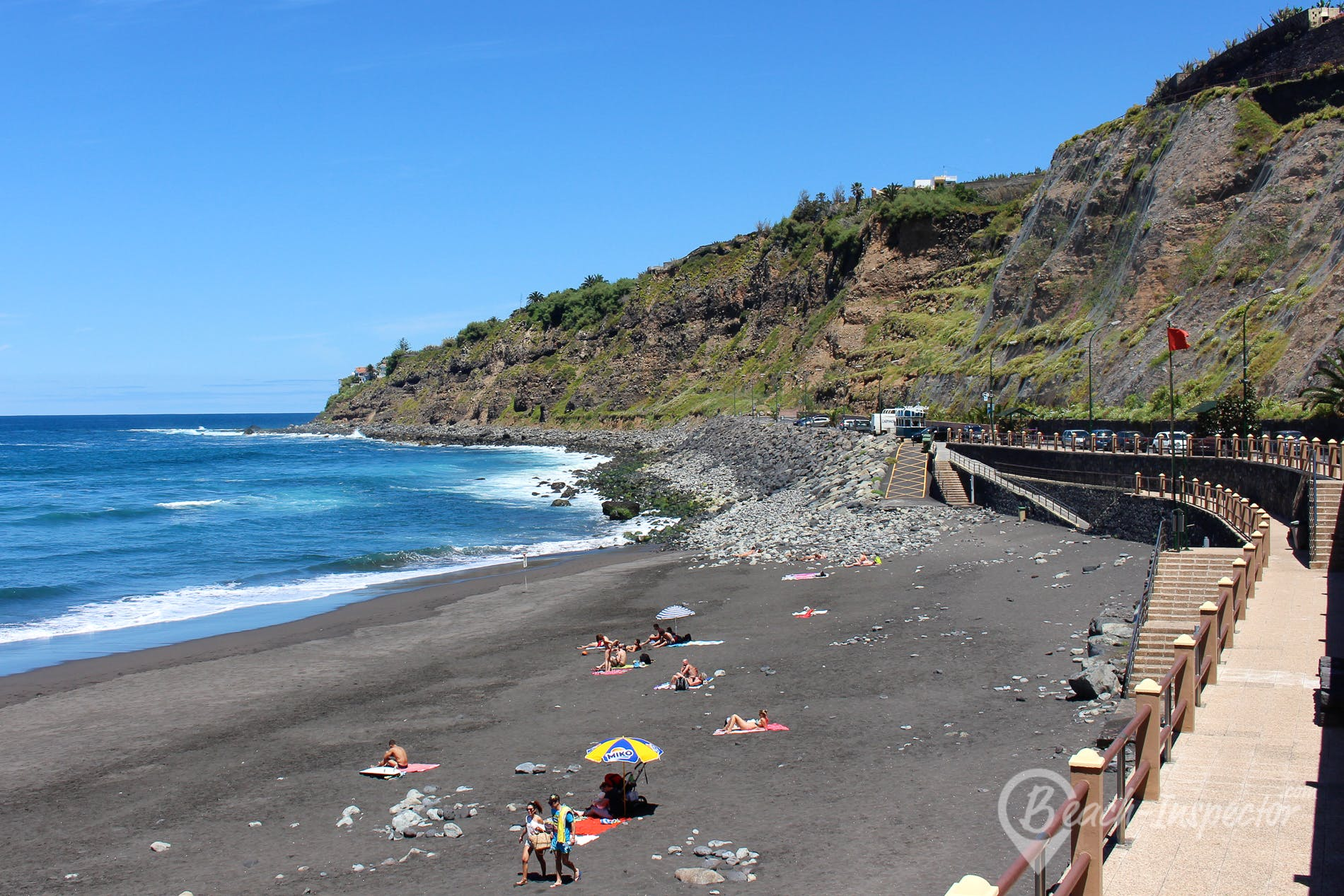 Beach Playa del Socorro, Tenerife, Spain