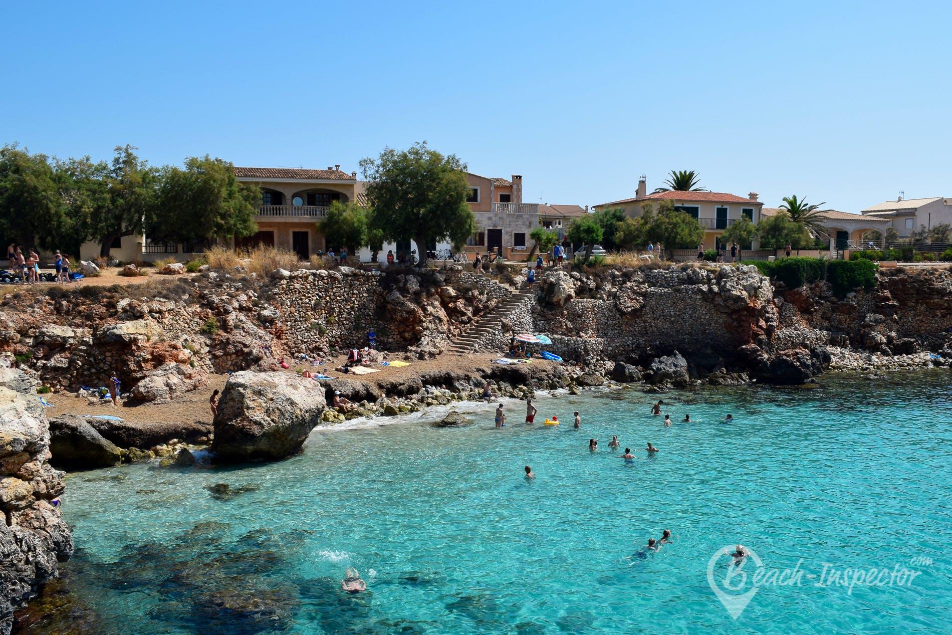 Playa Cala Morlanda, Mallorca, España