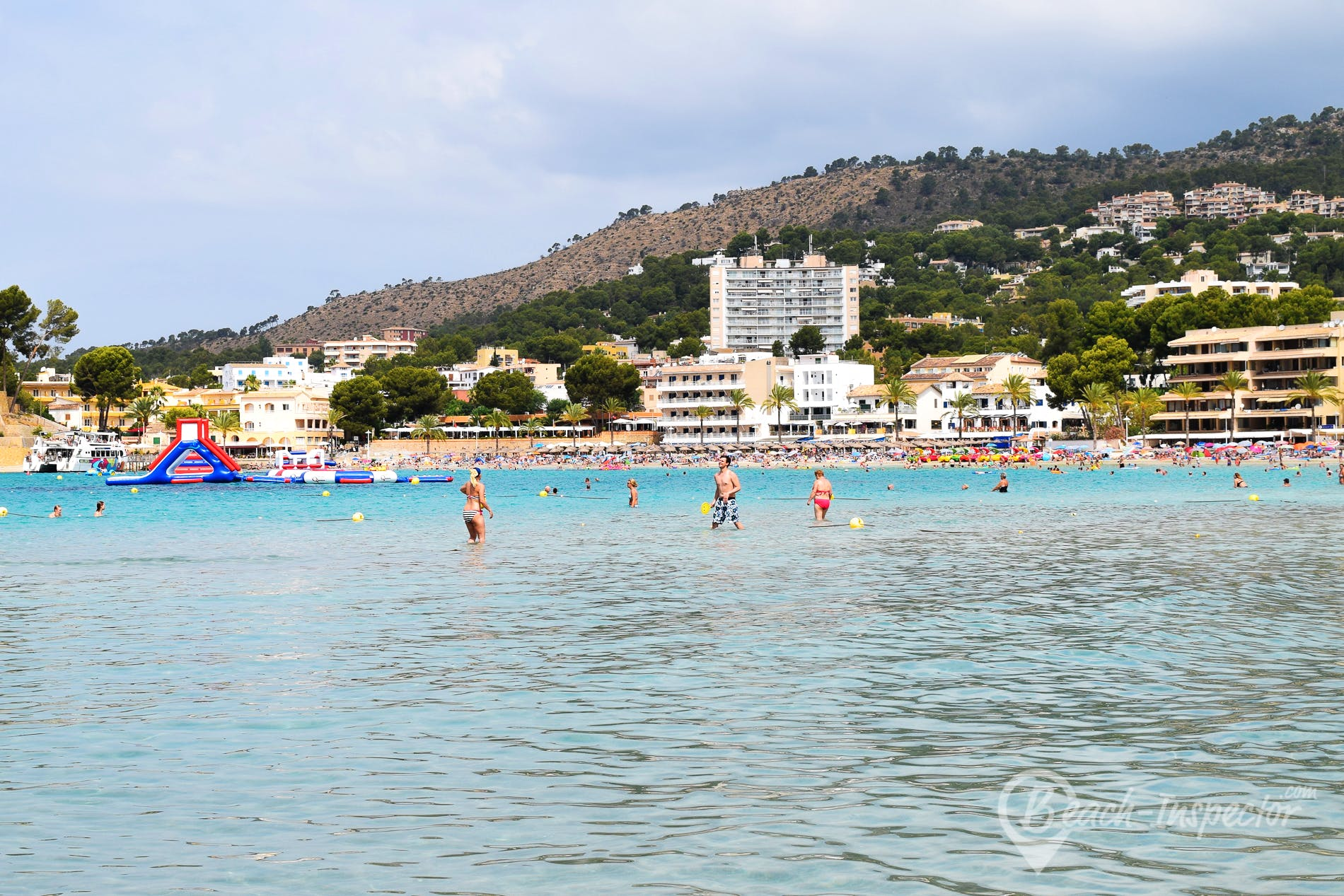 Beach Playa de Palmira, Majorca, Spain