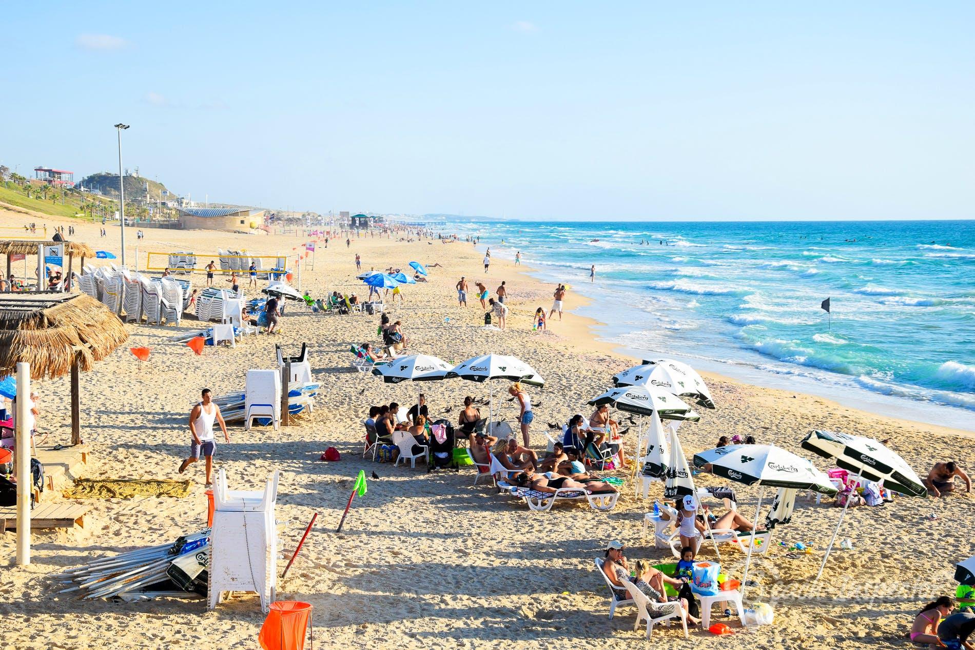 Strand Bat Yam Beach, Israel, Israel