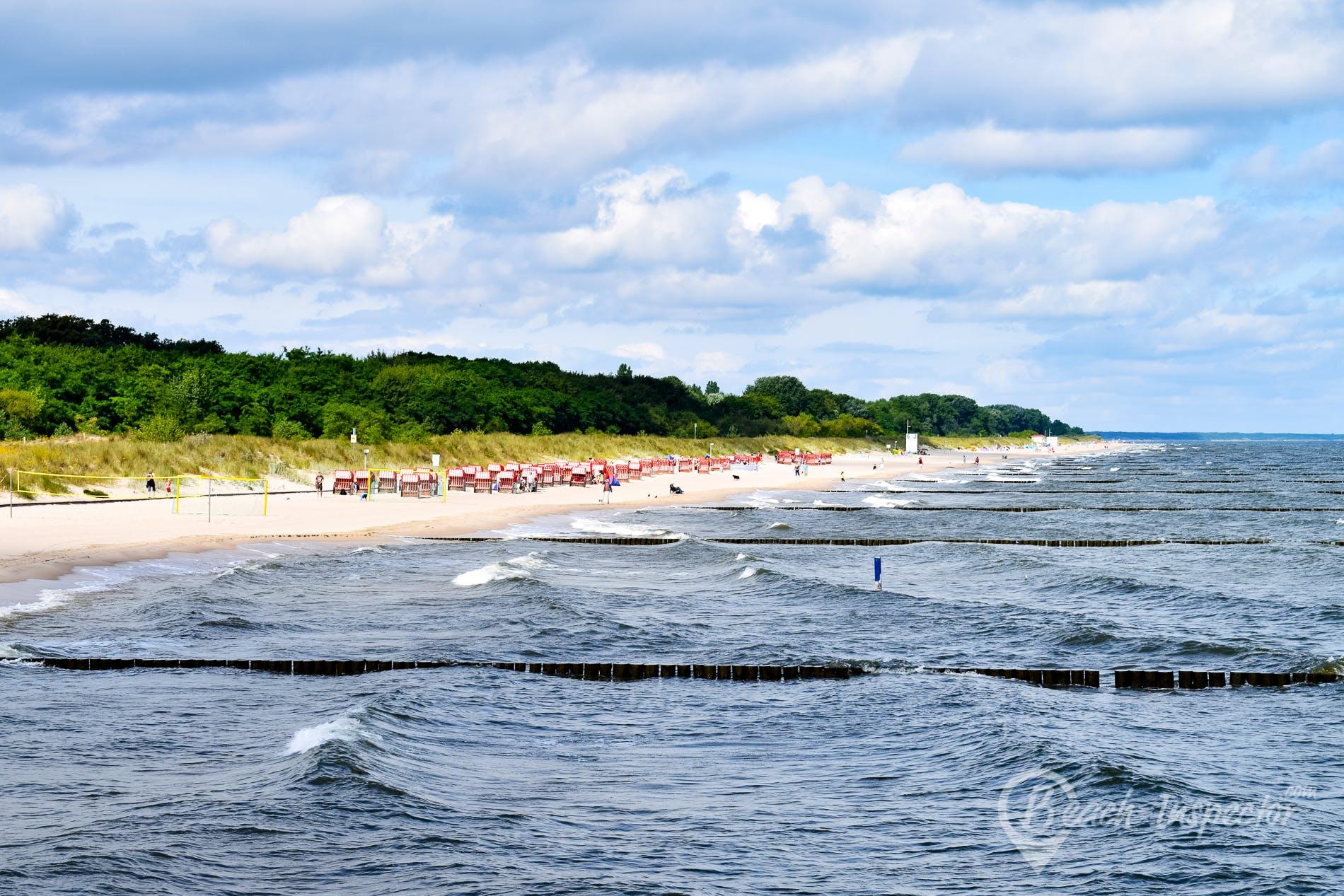 Playa Ostseebad Koserow, Usedom, Alemania