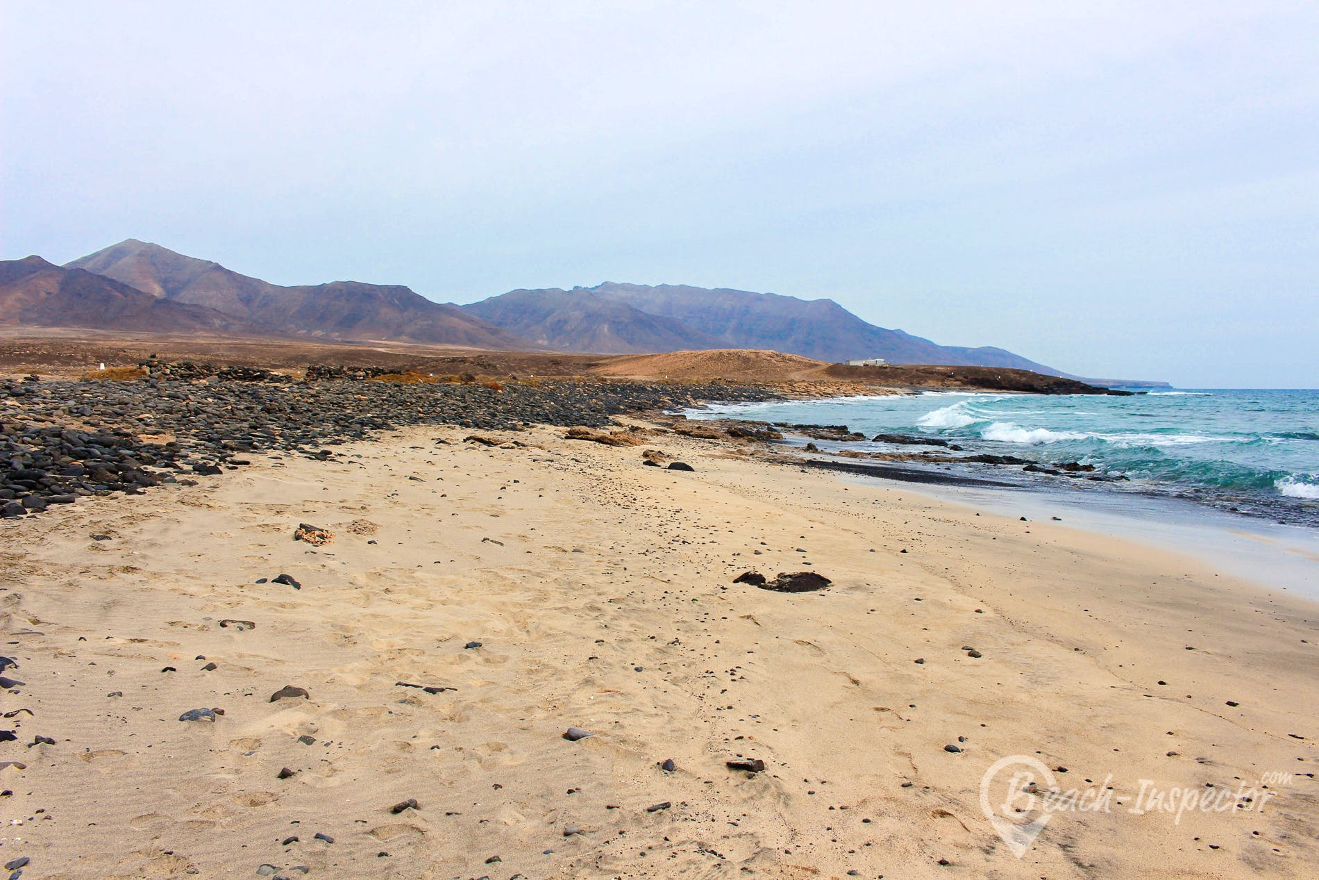 Playa Punta Salina, Fuerteventura, España