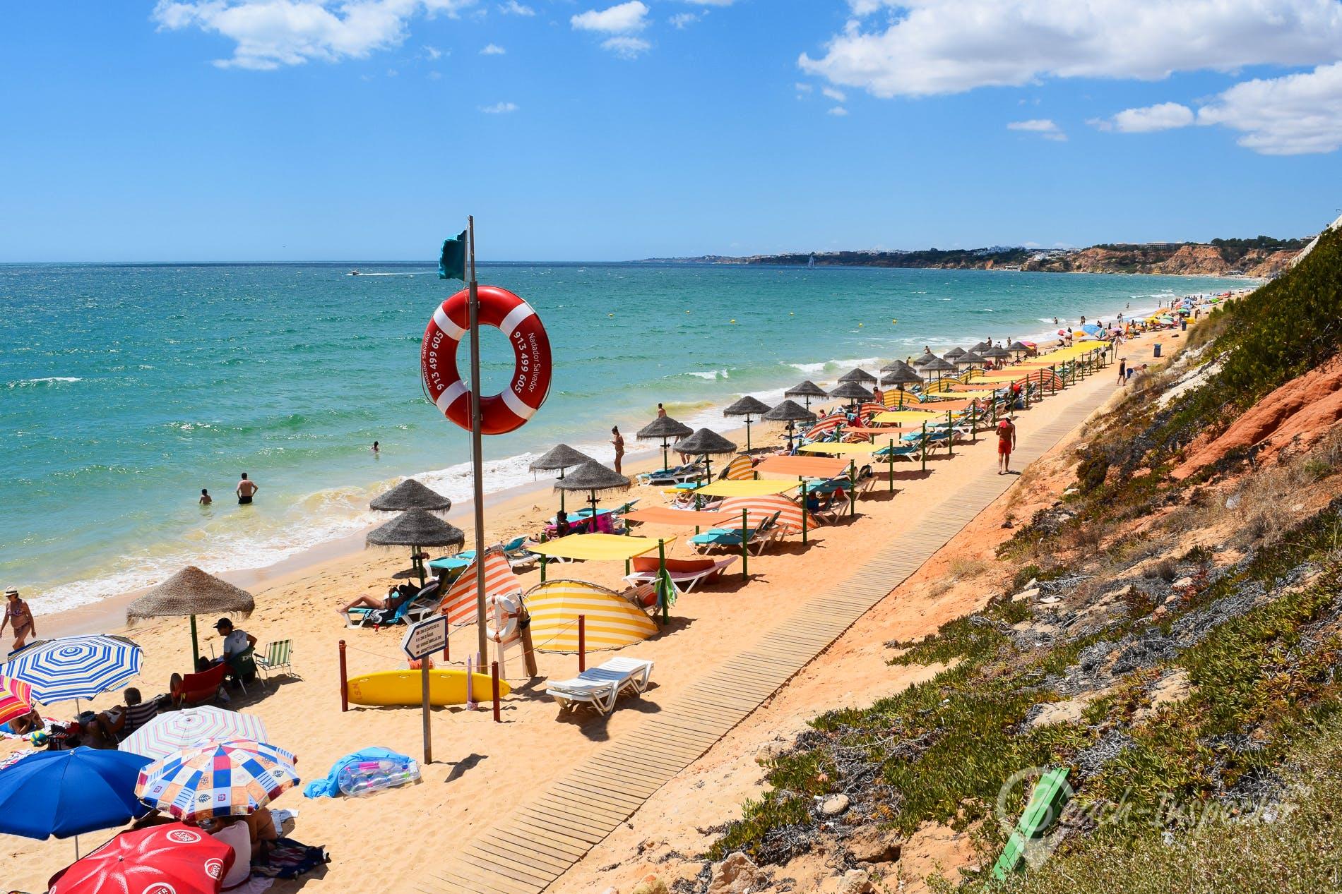Playa Praia da Falésia Açoteias, Algarve, Portugal