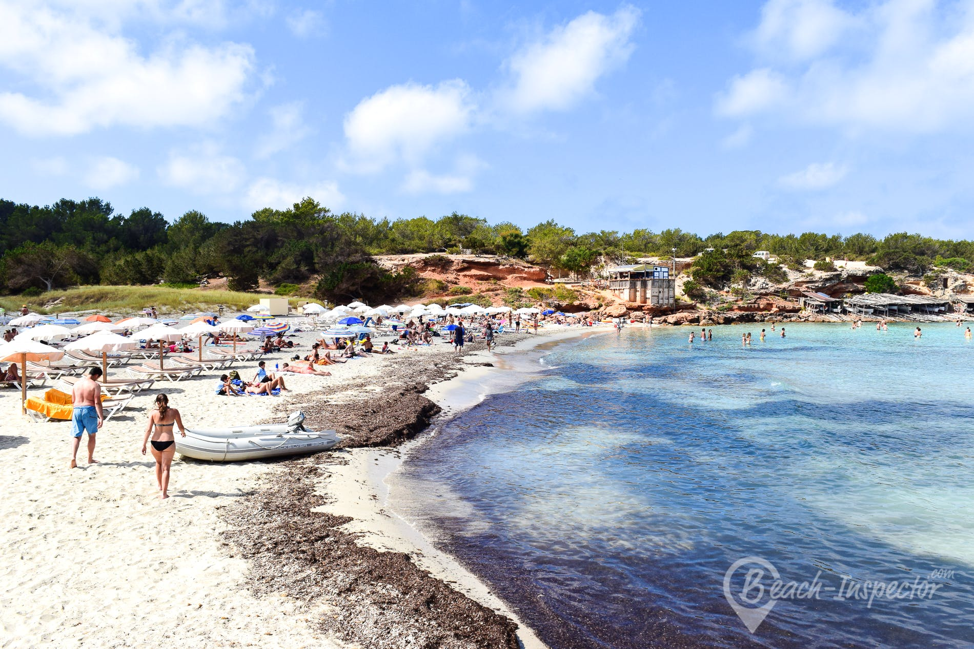 Strand Cala Saona, Formentera, Spanien