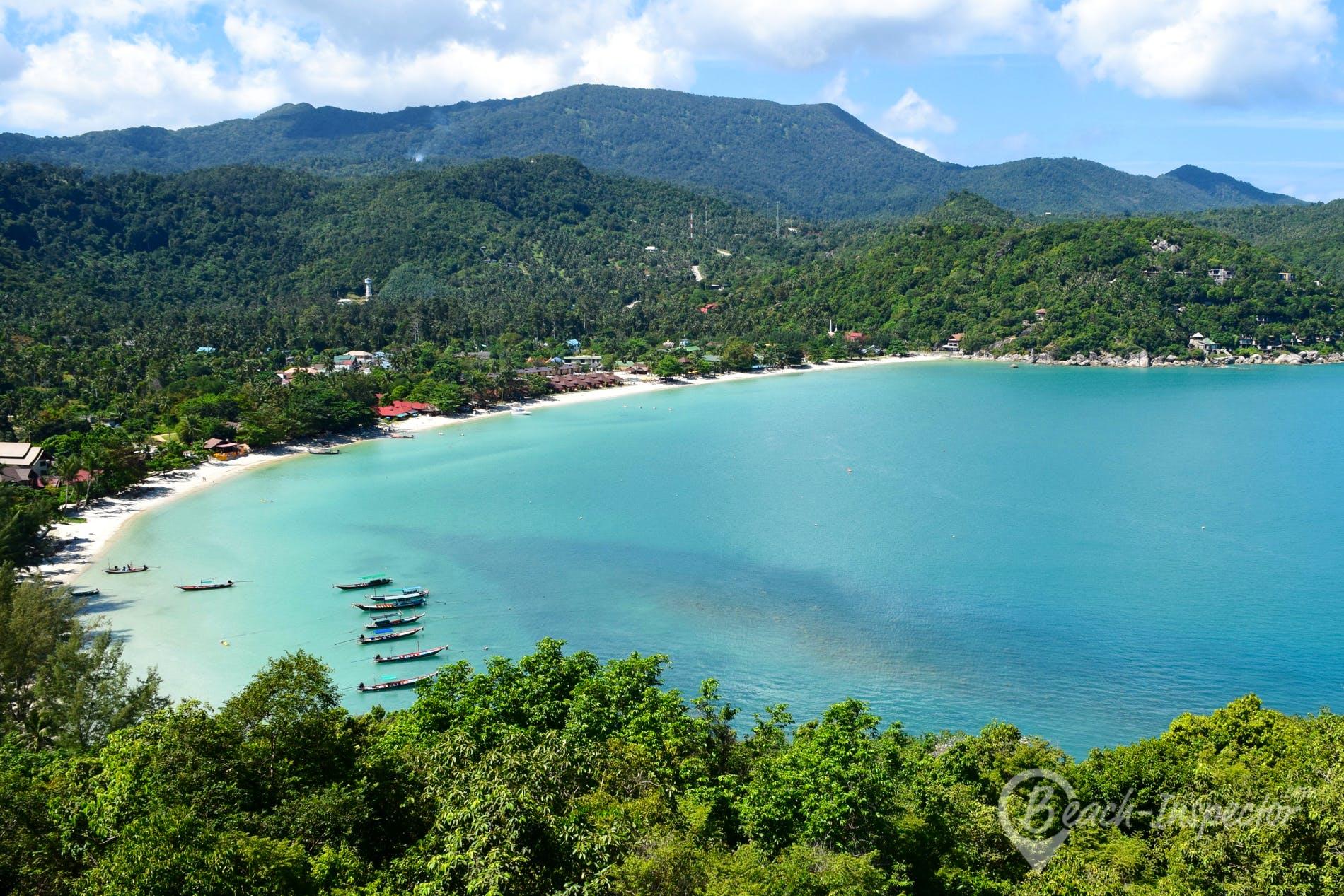Strand Thong Nai Pan Yai Beach, Koh Phangan, Thailand