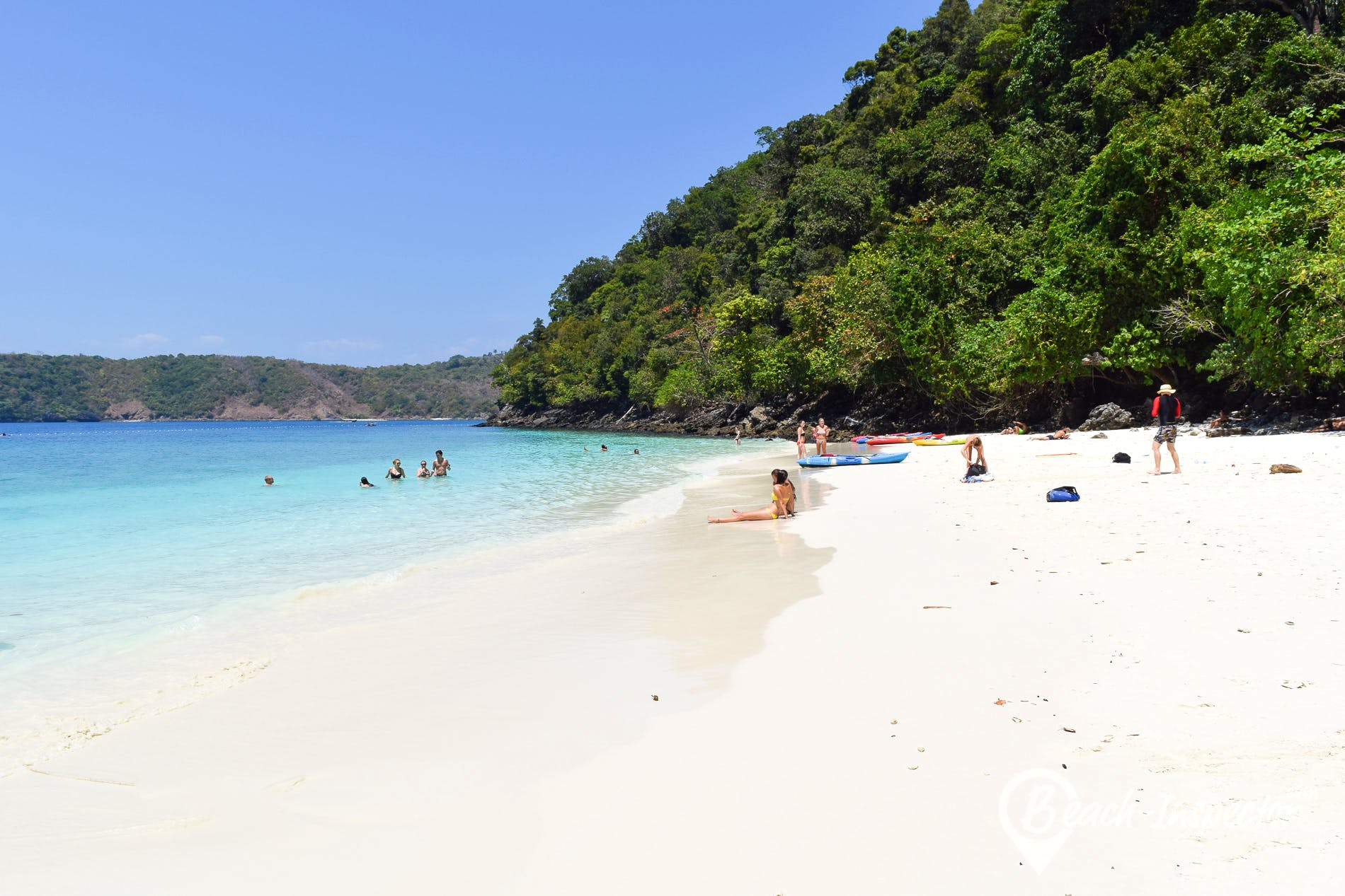 Beach Monkey Beach, Koh Phi Phi, Thailand