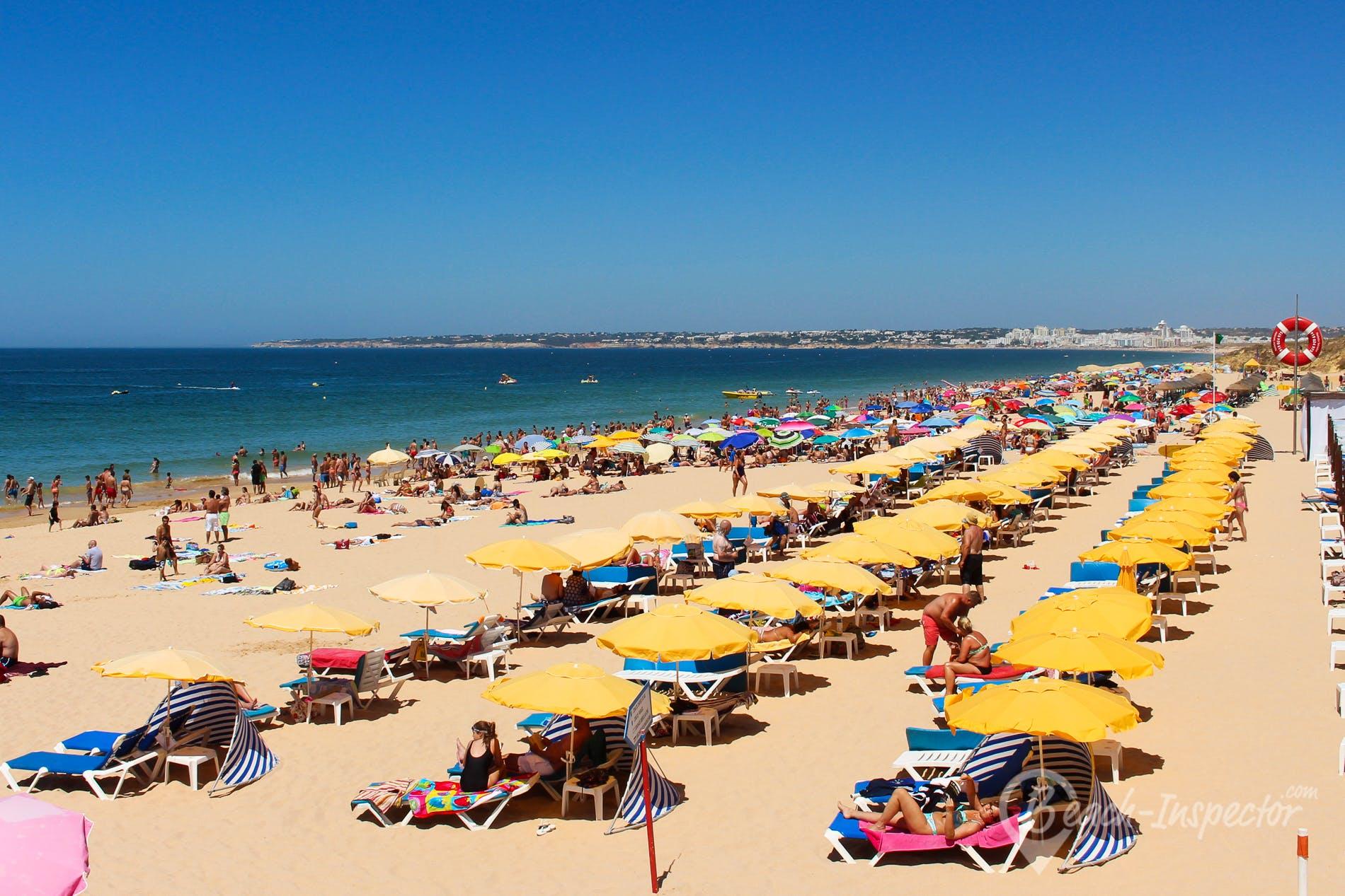 Playa Praia da Galé Leste, Algarve, Portugal