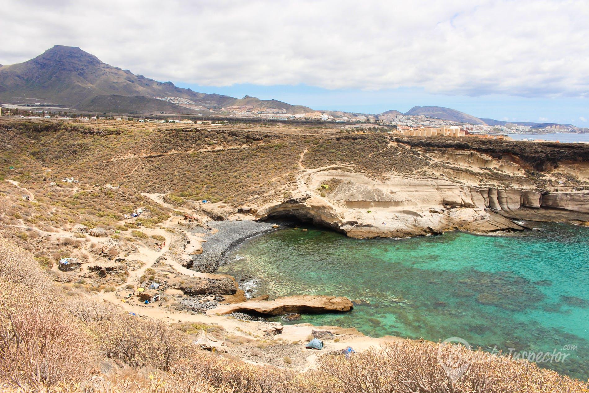 Playa Playa las Gaviotas, Tenerife, España