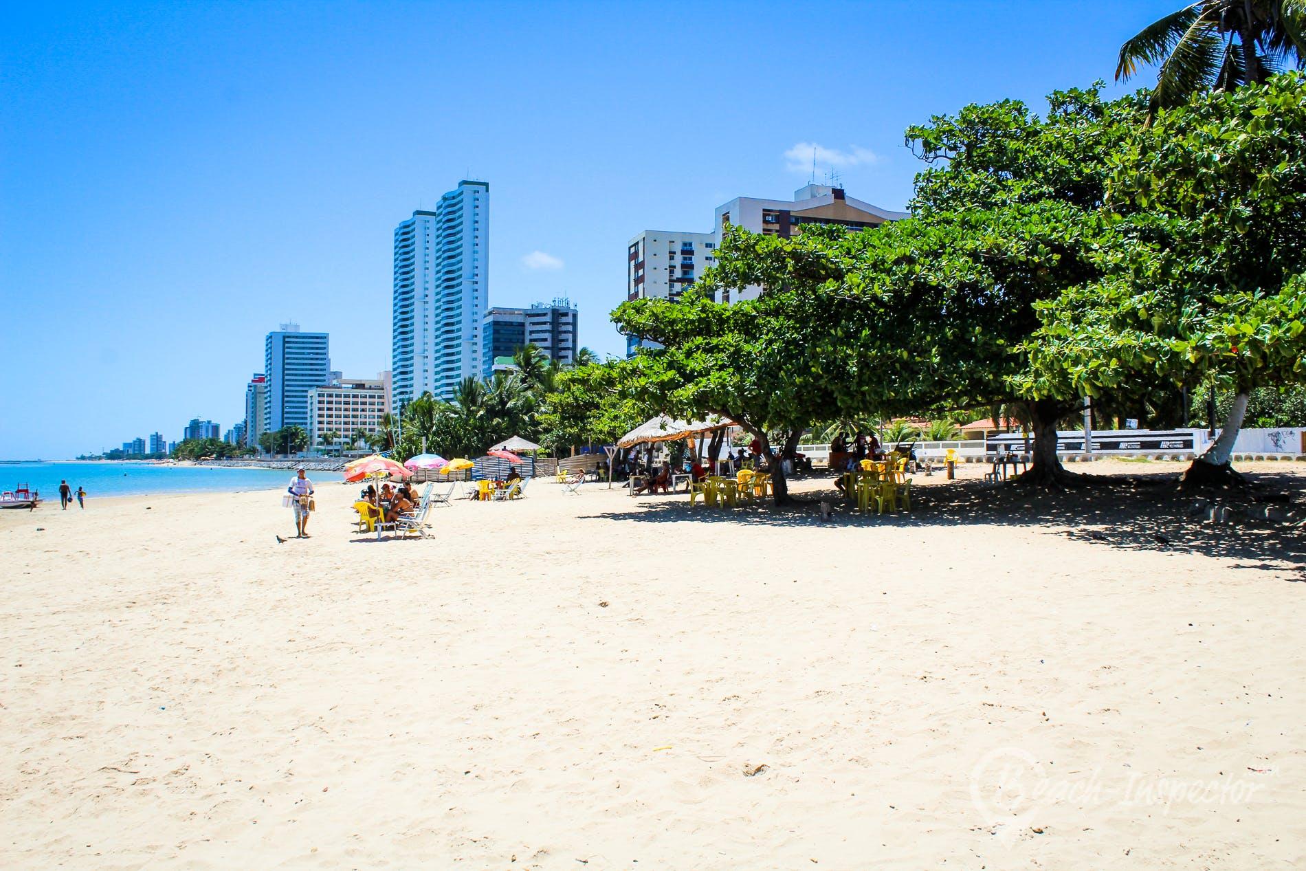 Strand Praia do Rio Doce, Pernambuco, Brasilien