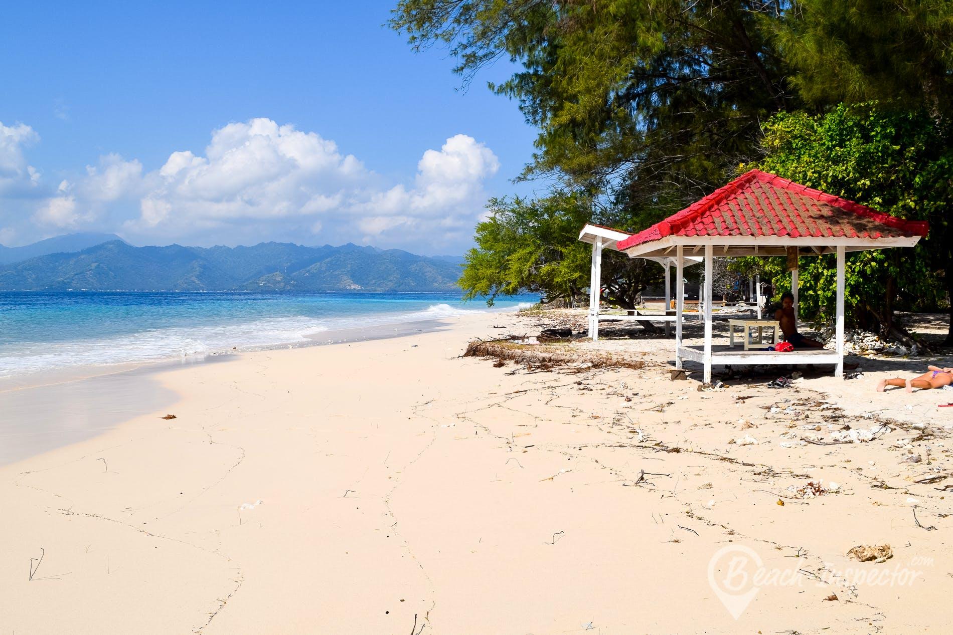 Strand Gili Meno, Gili Meno, Indonesien