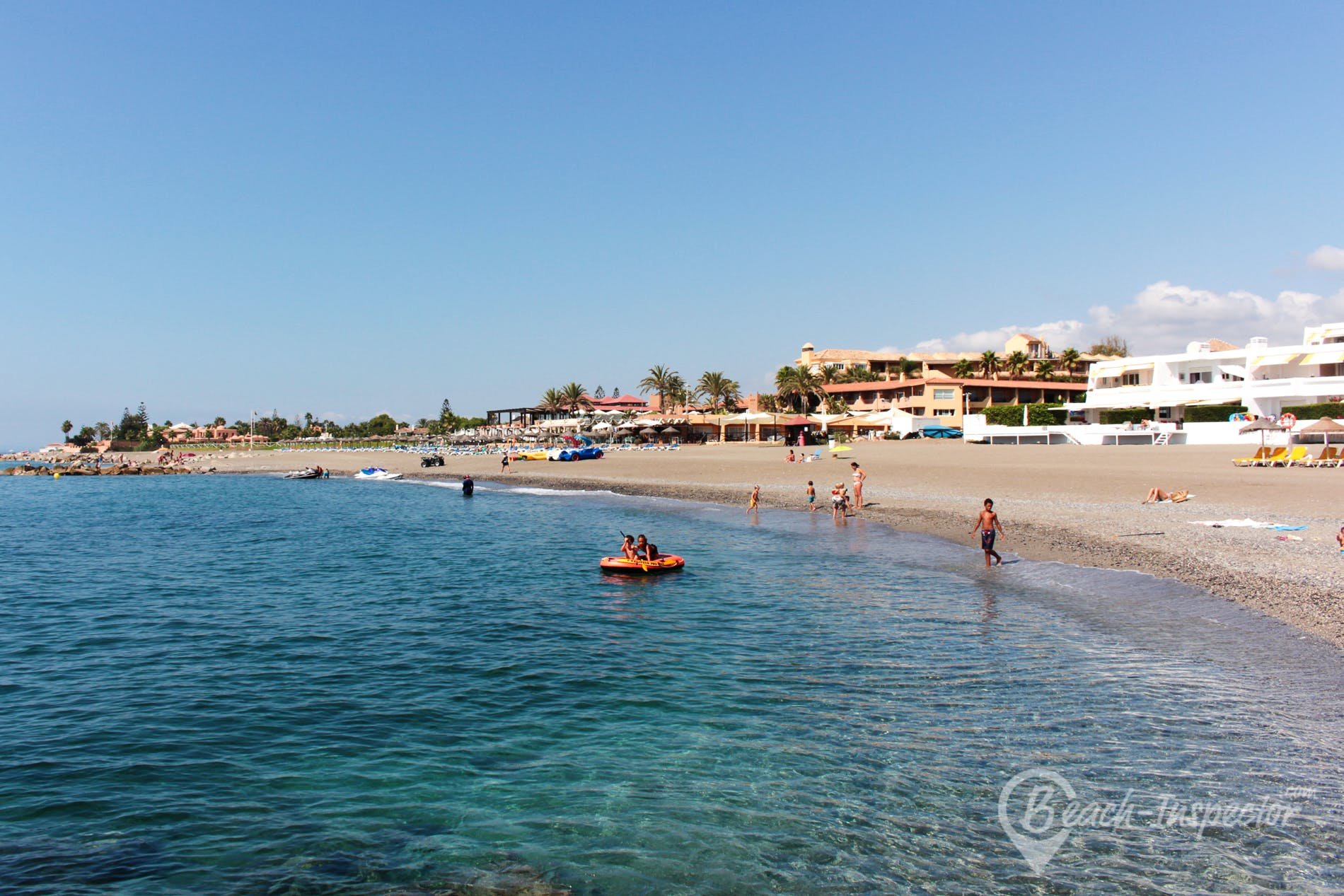 Playa Playa de Guadalmina, Costa del Sol, España