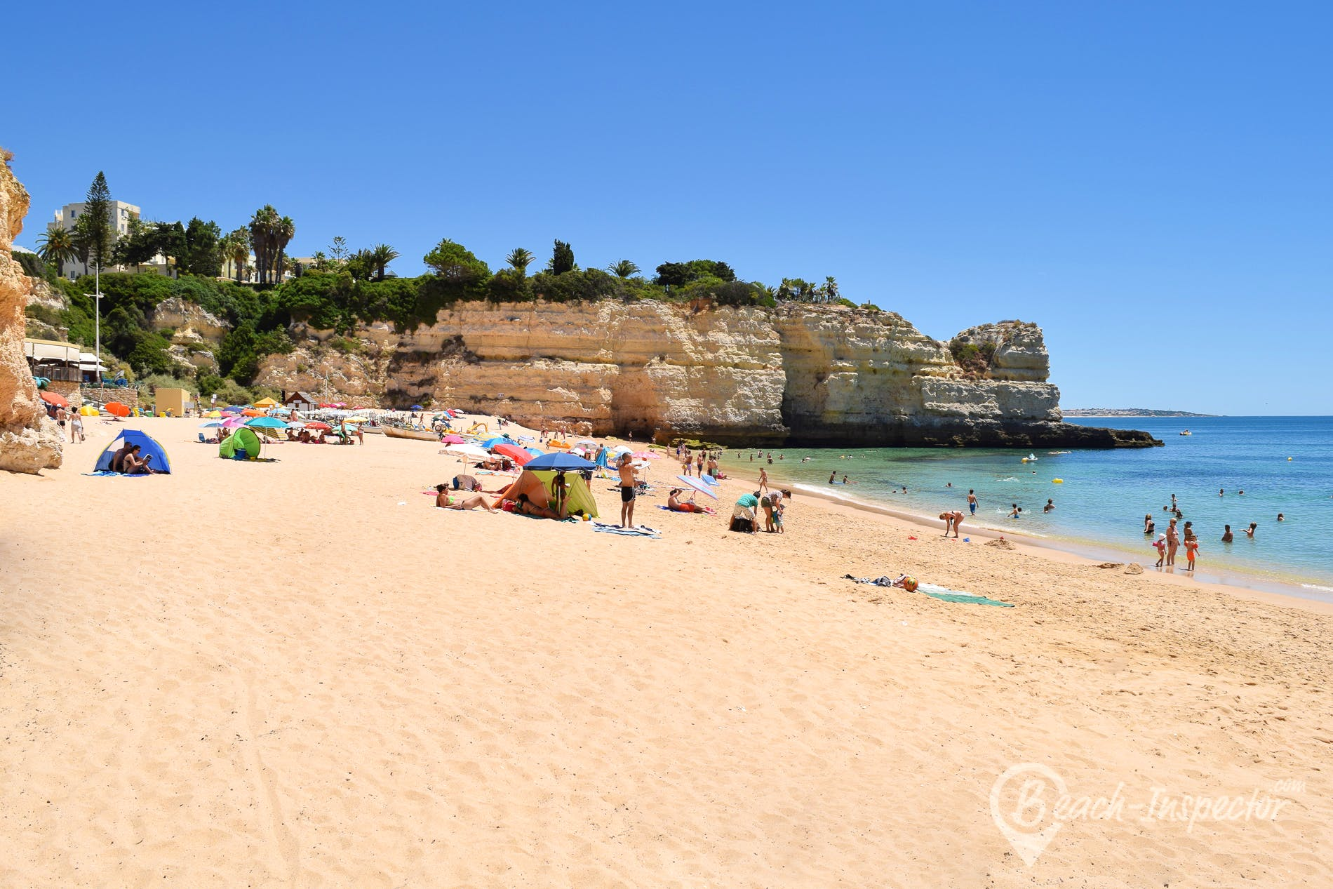 Strand Praia da Senhora da Rocha, Algarve, Portugal