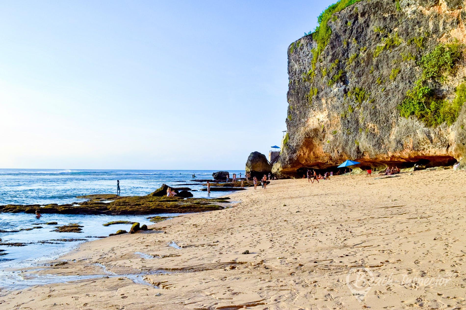 Beach Uluwatu Beach, Bali, Indonesia
