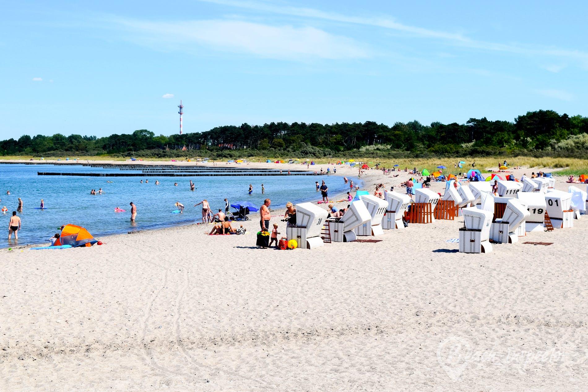 Strand Strand Hohe Düne, Deutschland, Deutschland