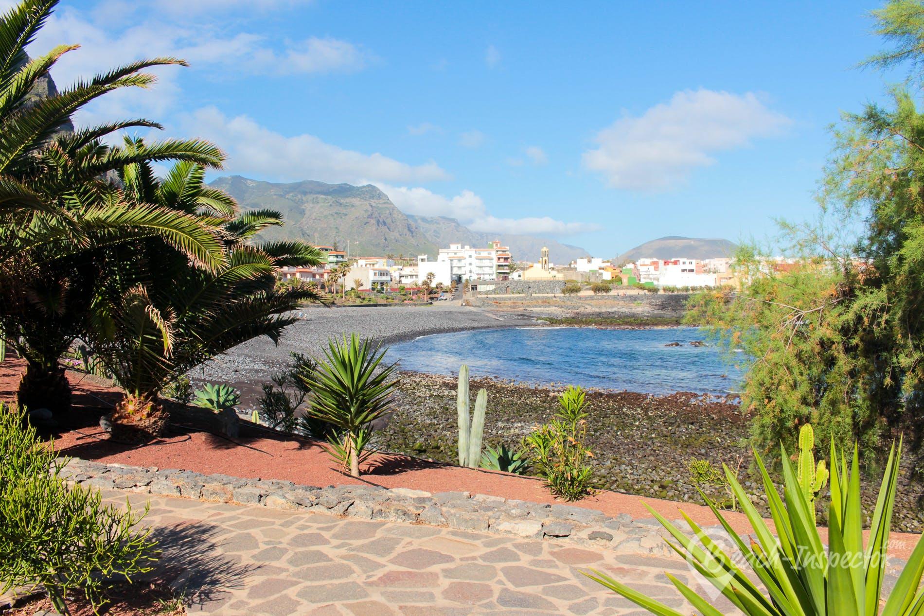 Beach Playa de la Caleta, Tenerife, Spain
