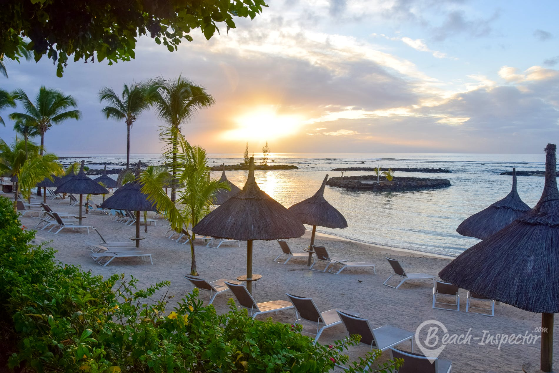 Playa Veranda Pointe aux Biches Beach, Mauricio,