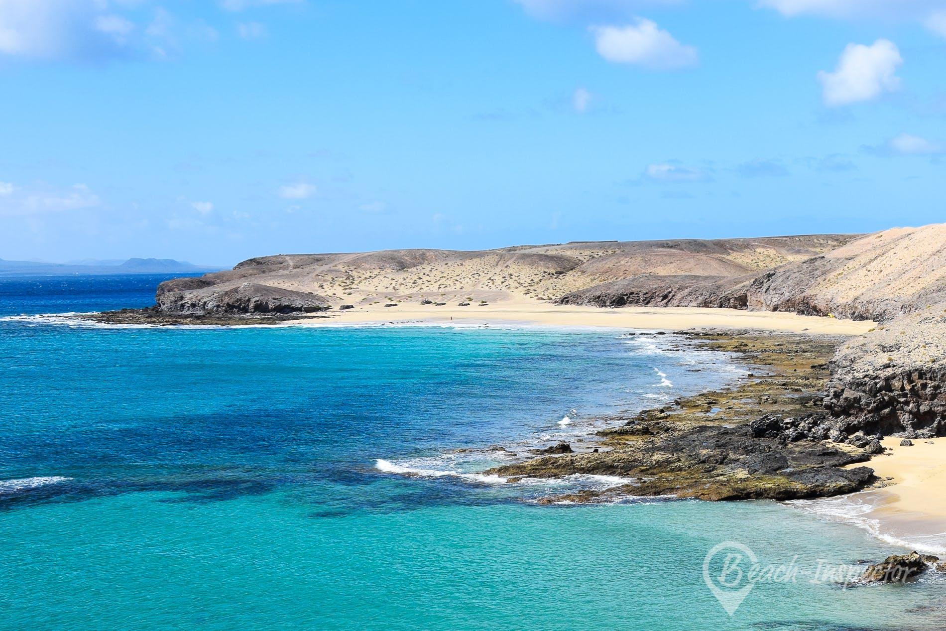 Playa Caleta del Congrio, Lanzarote, España