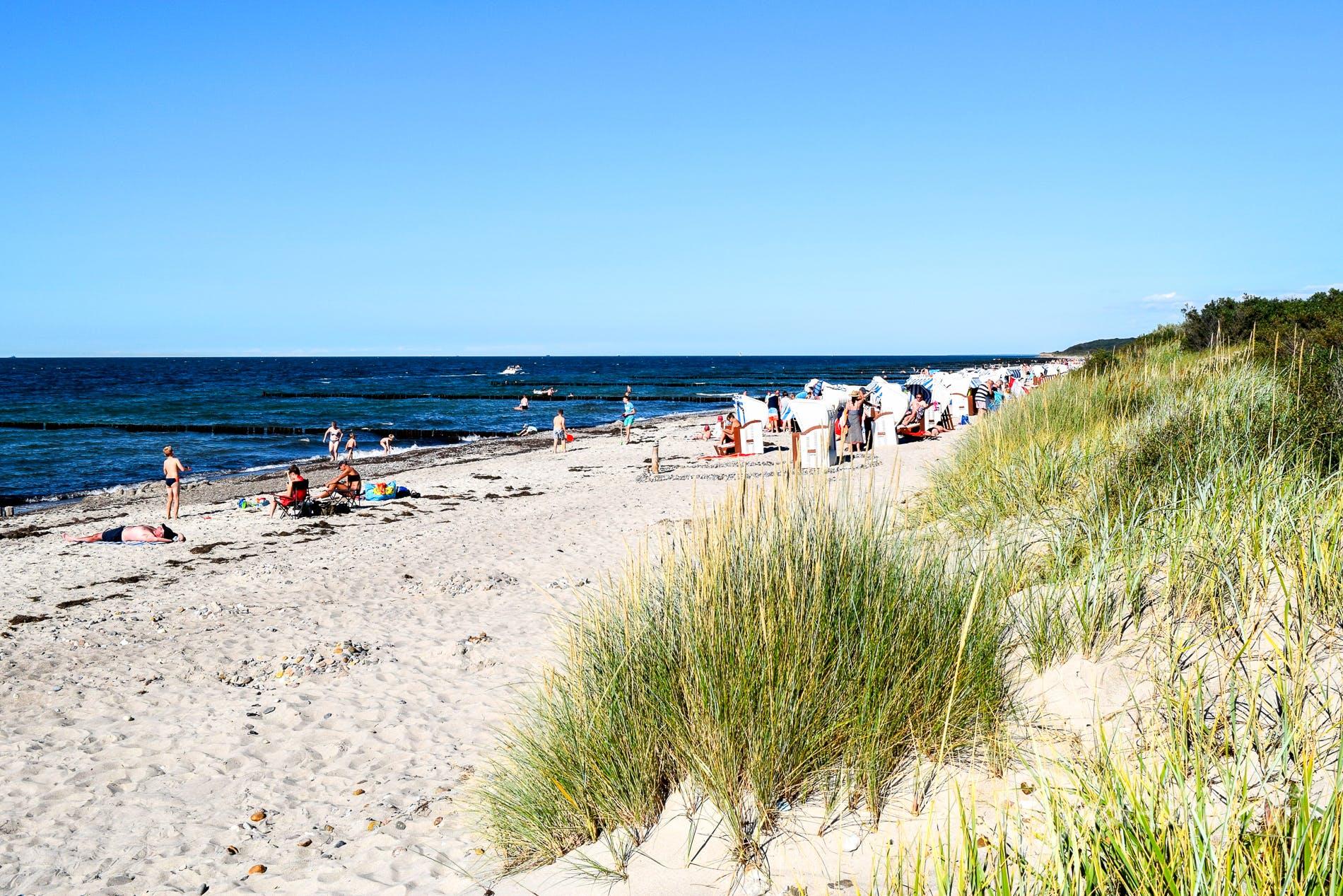 Strand Strand Börgerende, Deutschland, Deutschland