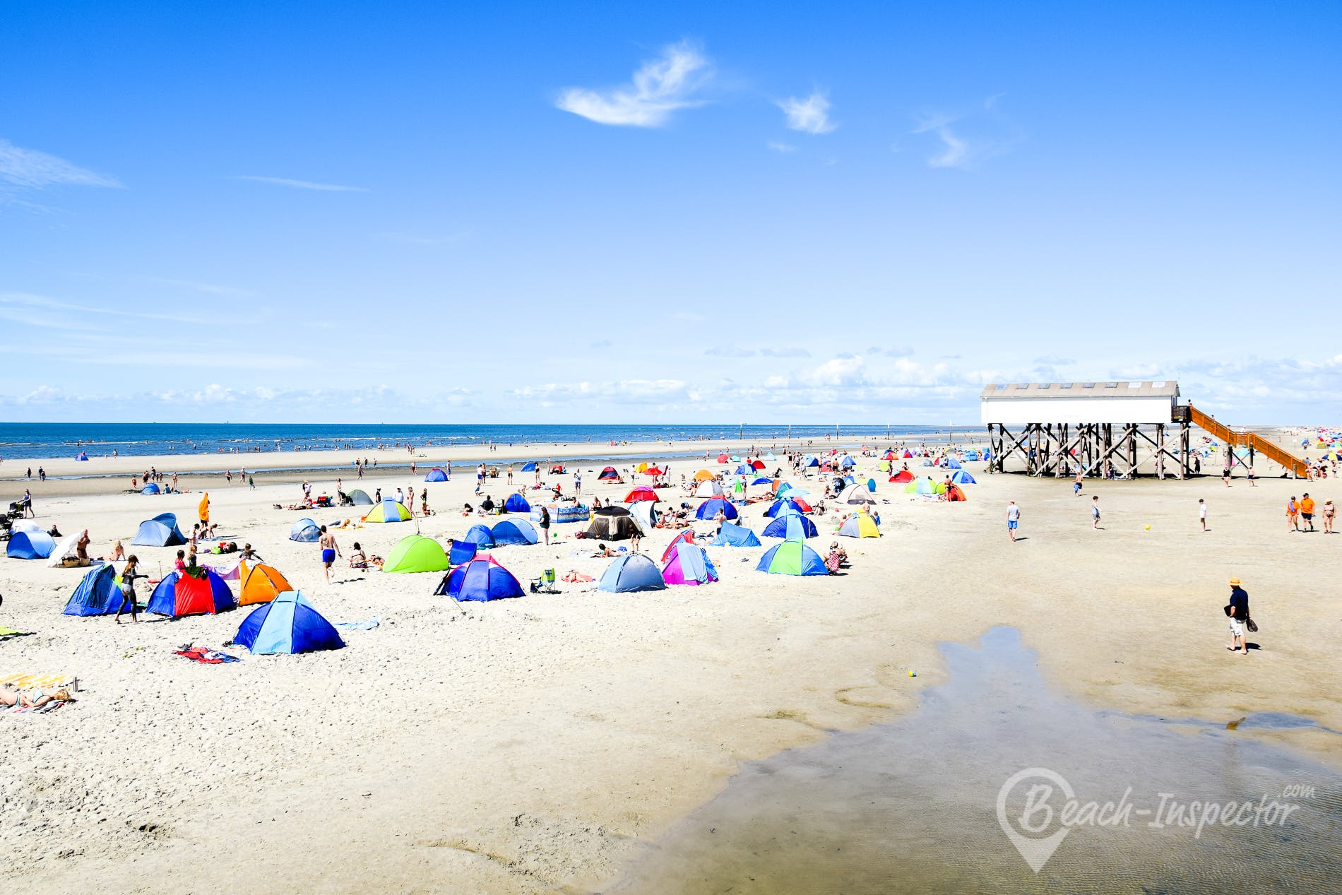 Beach Badestelle Ording Nord - FKK, Germany, Germany