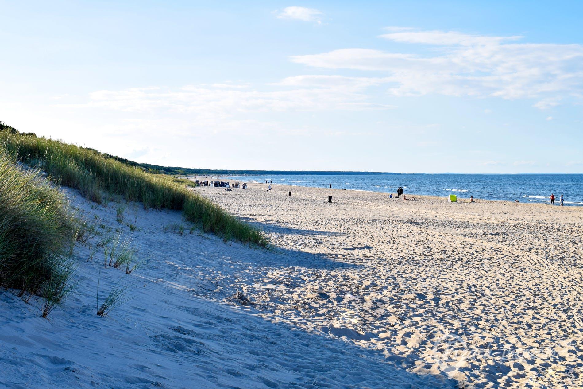 Playa Ostseebad Trassenheide, Usedom, Alemania