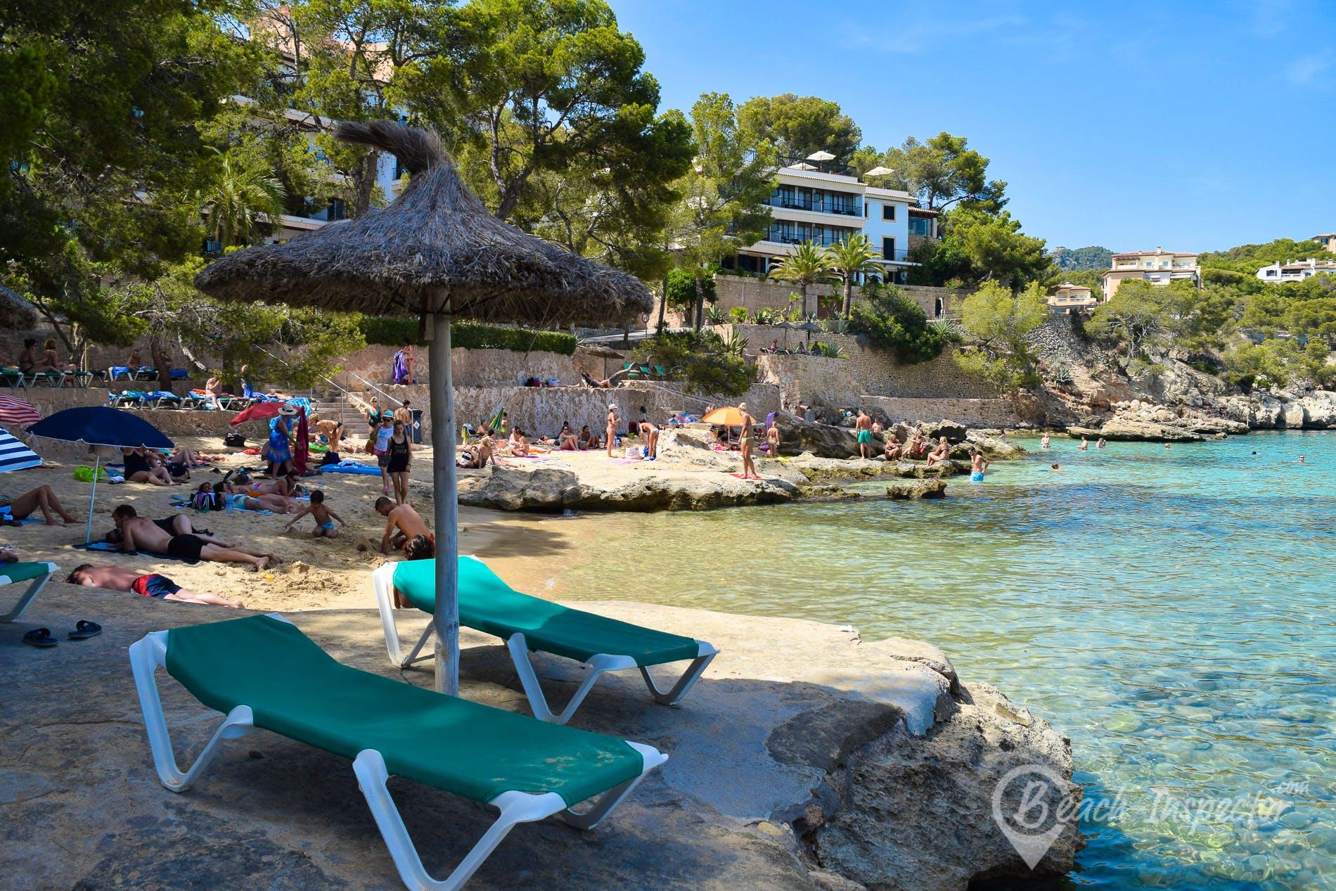 Playa Cala Fornells, Mallorca, España