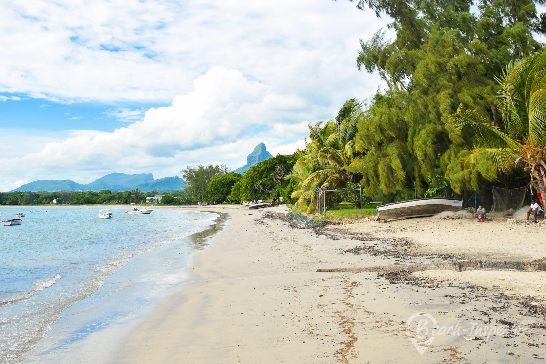 Strand Tamarin Beach, Mauritius,