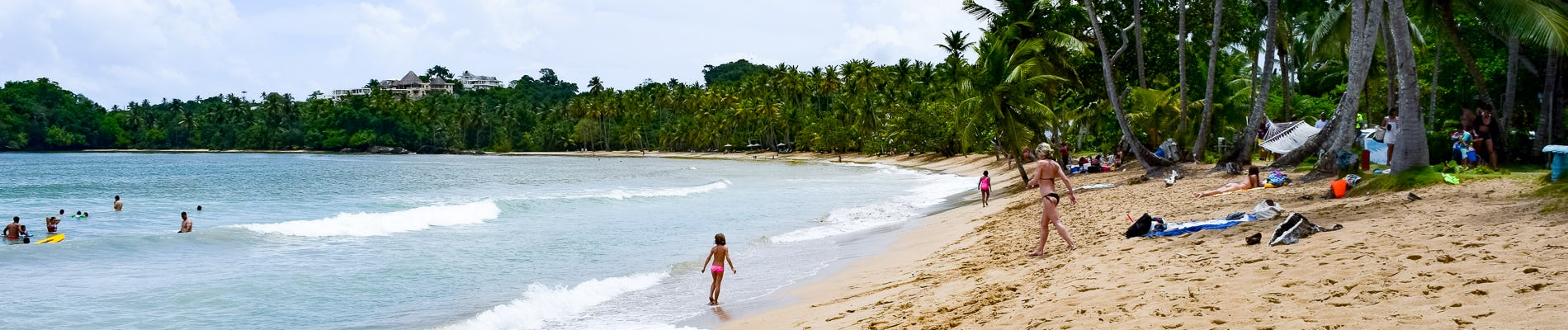 Playa Bonita The Beautiful Beach Of Peninsula Samaná