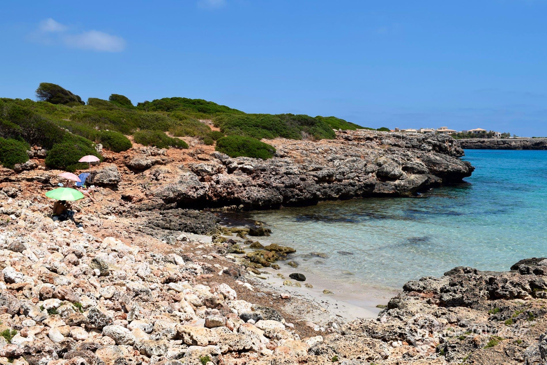 Beach Caló d´en Rafalino, Majorca, Spain