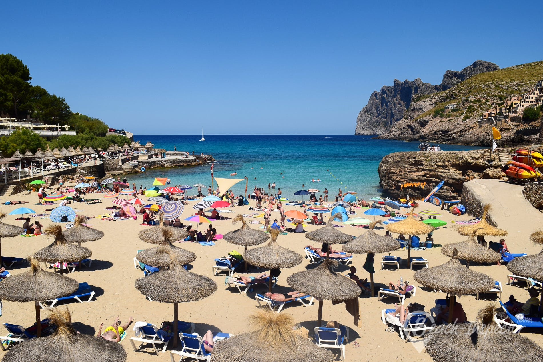 Beach Cala Molins, Majorca, Spain