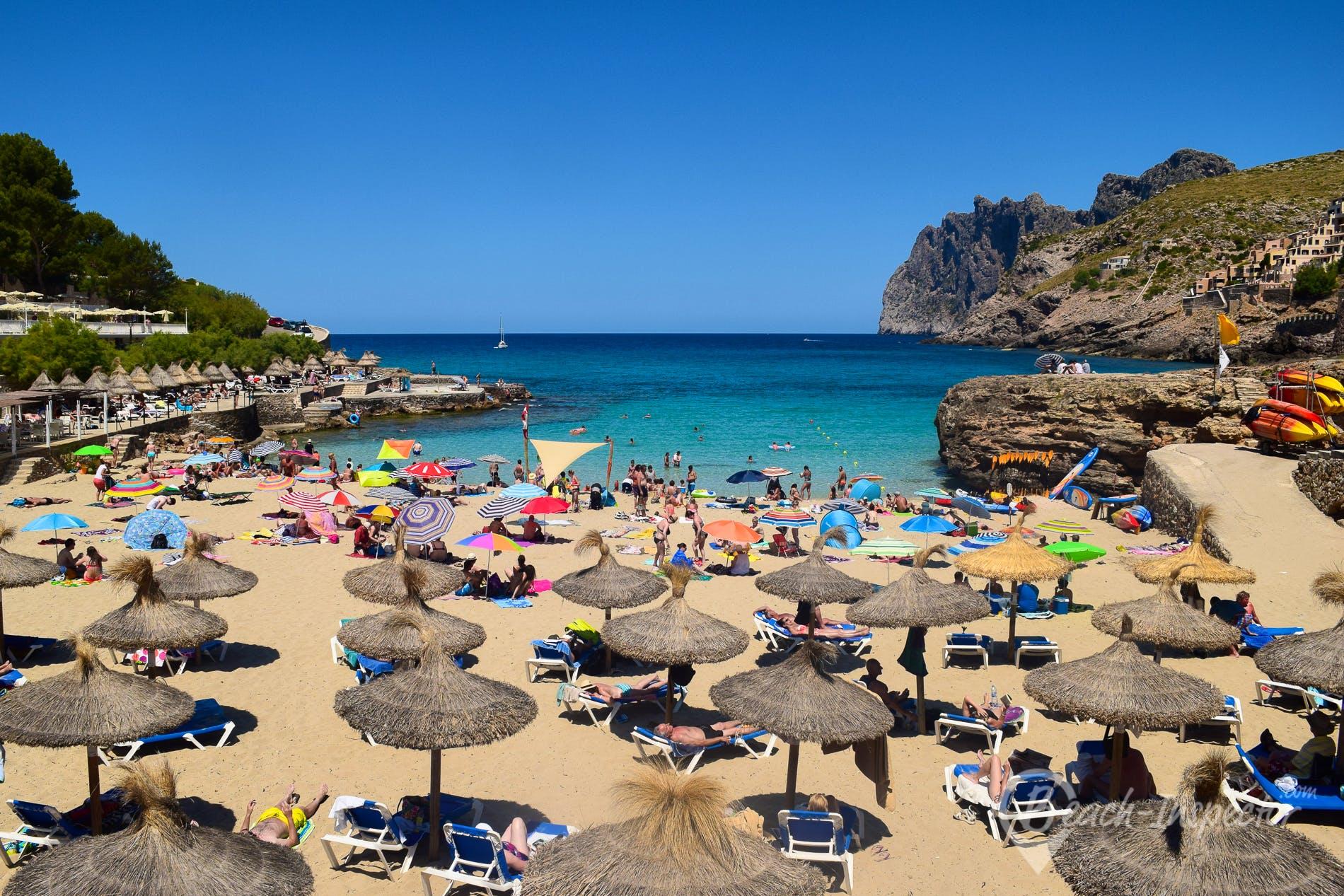 Strand Cala Molins, Mallorca, Spanien