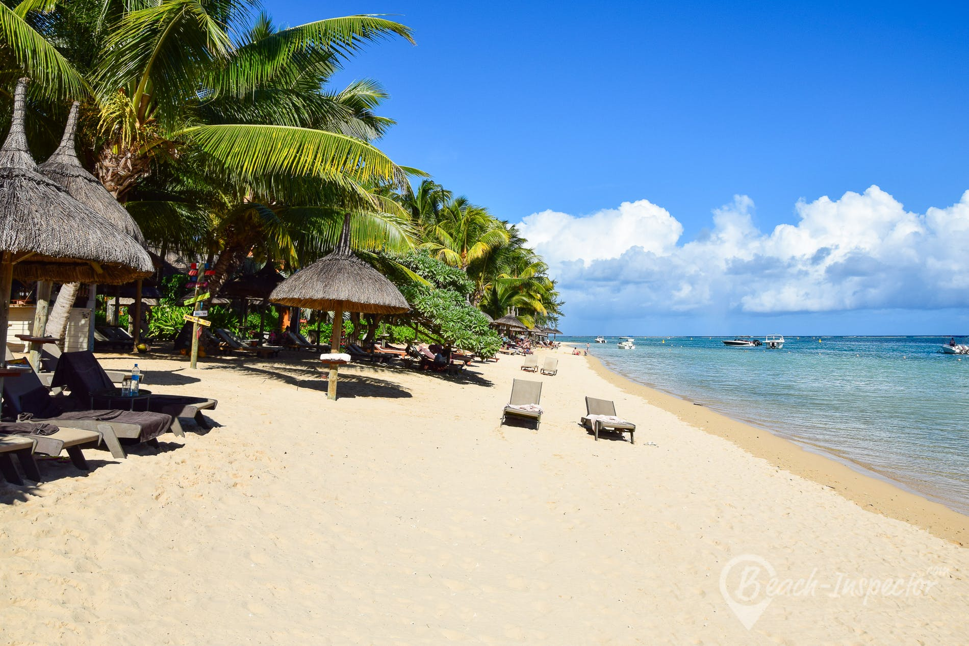 Beach Heritage Resorts Beach, Mauritius,