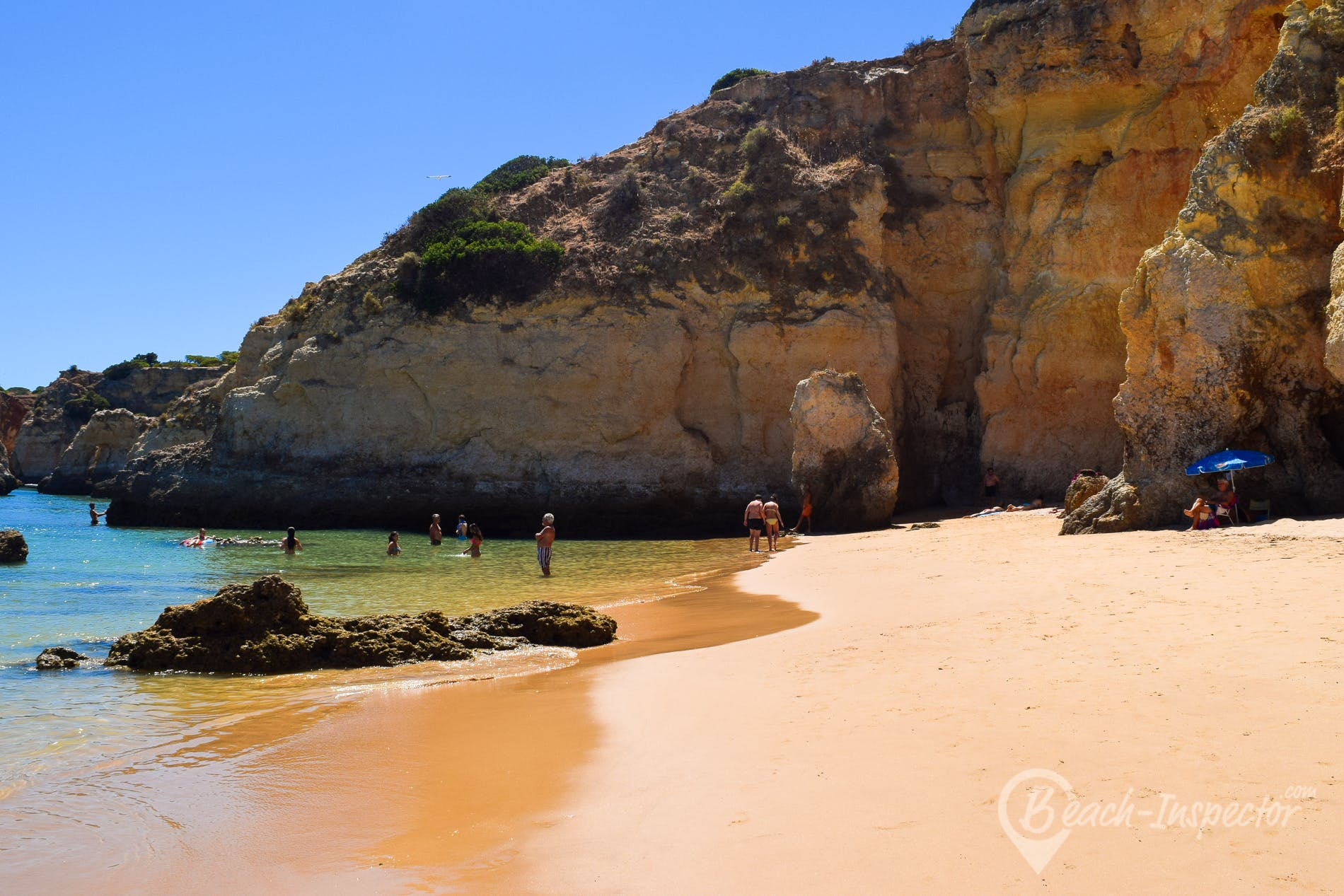 Playa Praia do Boiao, Algarve, Portugal