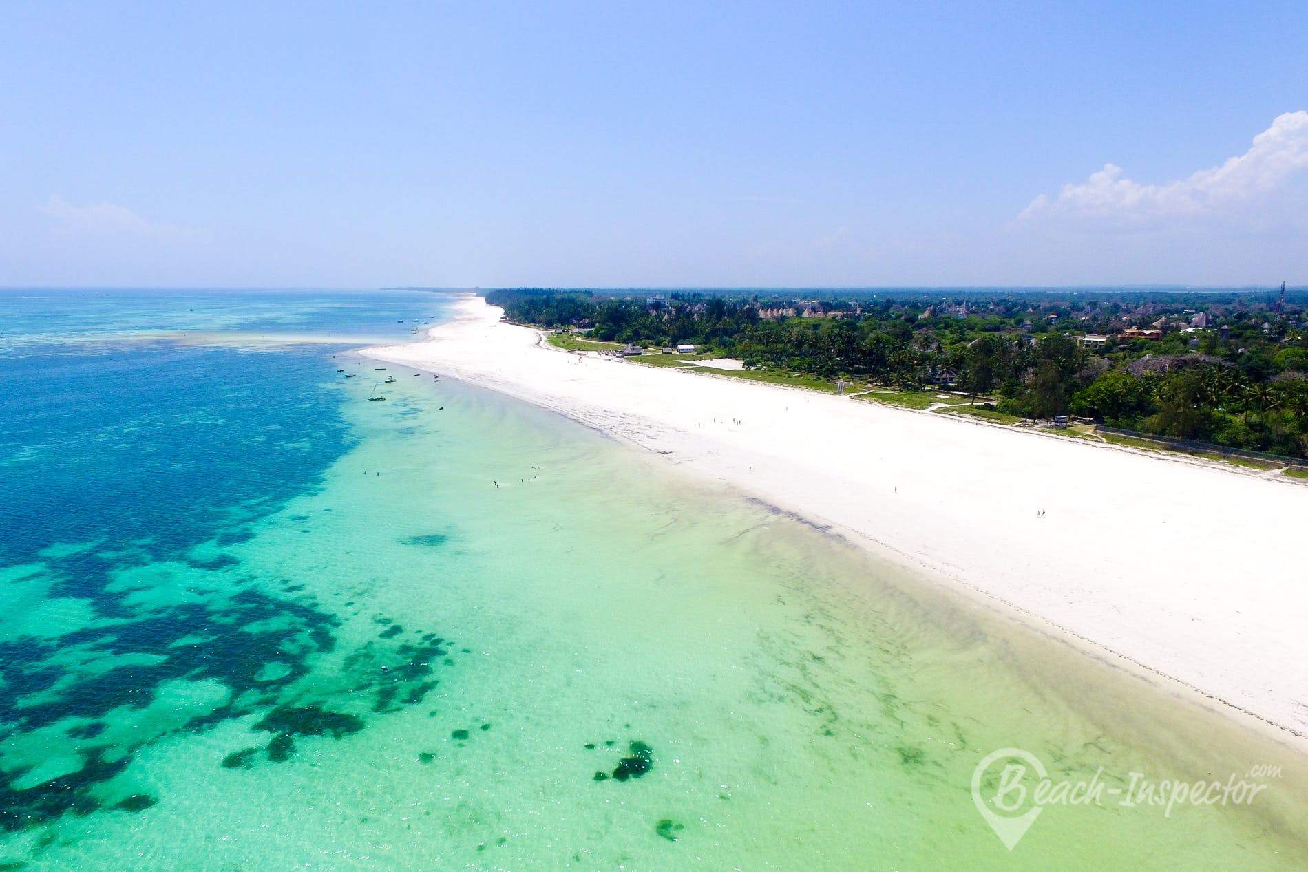 Playa Galu Kinondo Beach, Kenia, Kenia