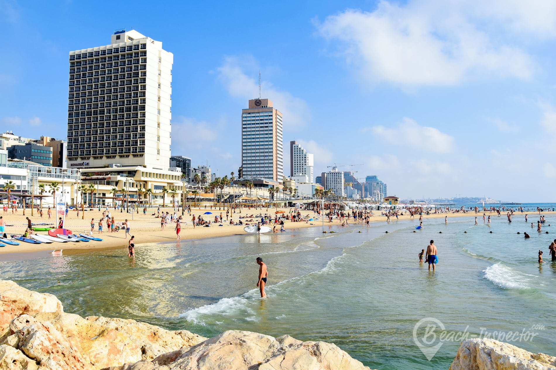 Strand Gordon Beach, Israel, Israel