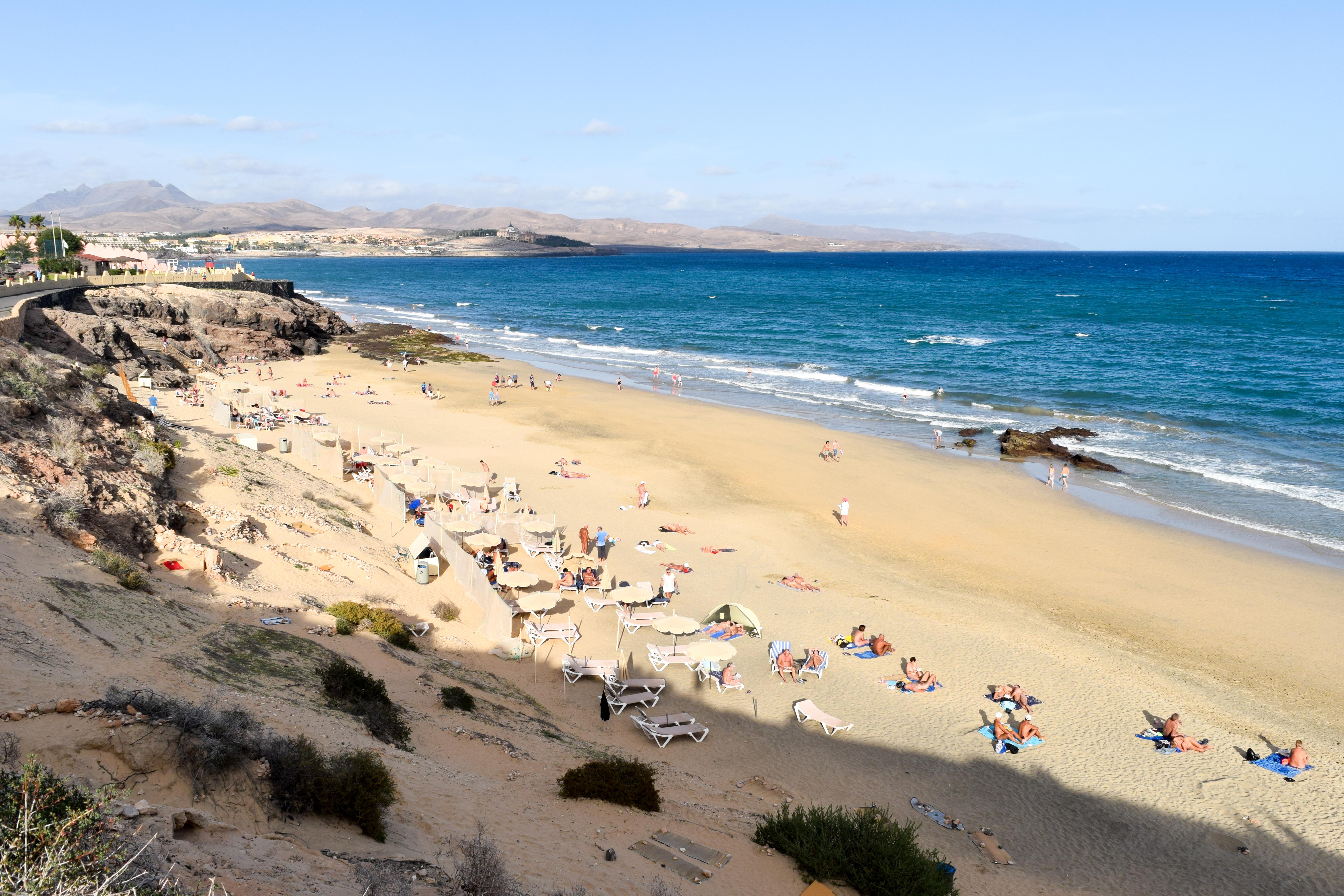Playa de Costa Calma South Fuerteventura Pictures videos insider tips