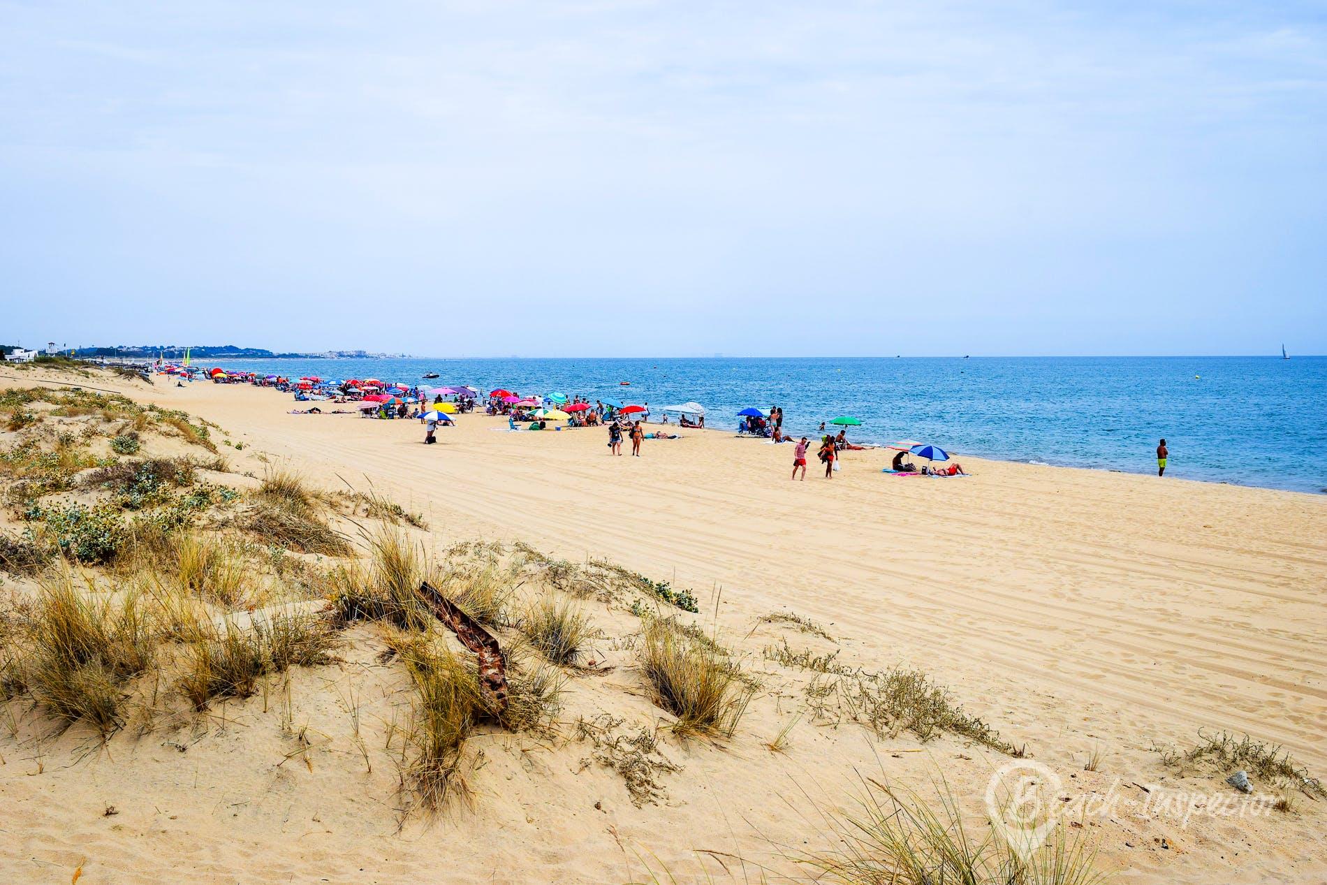 Strand Playa de Camino de Santana, Costa de la Luz, Spanien