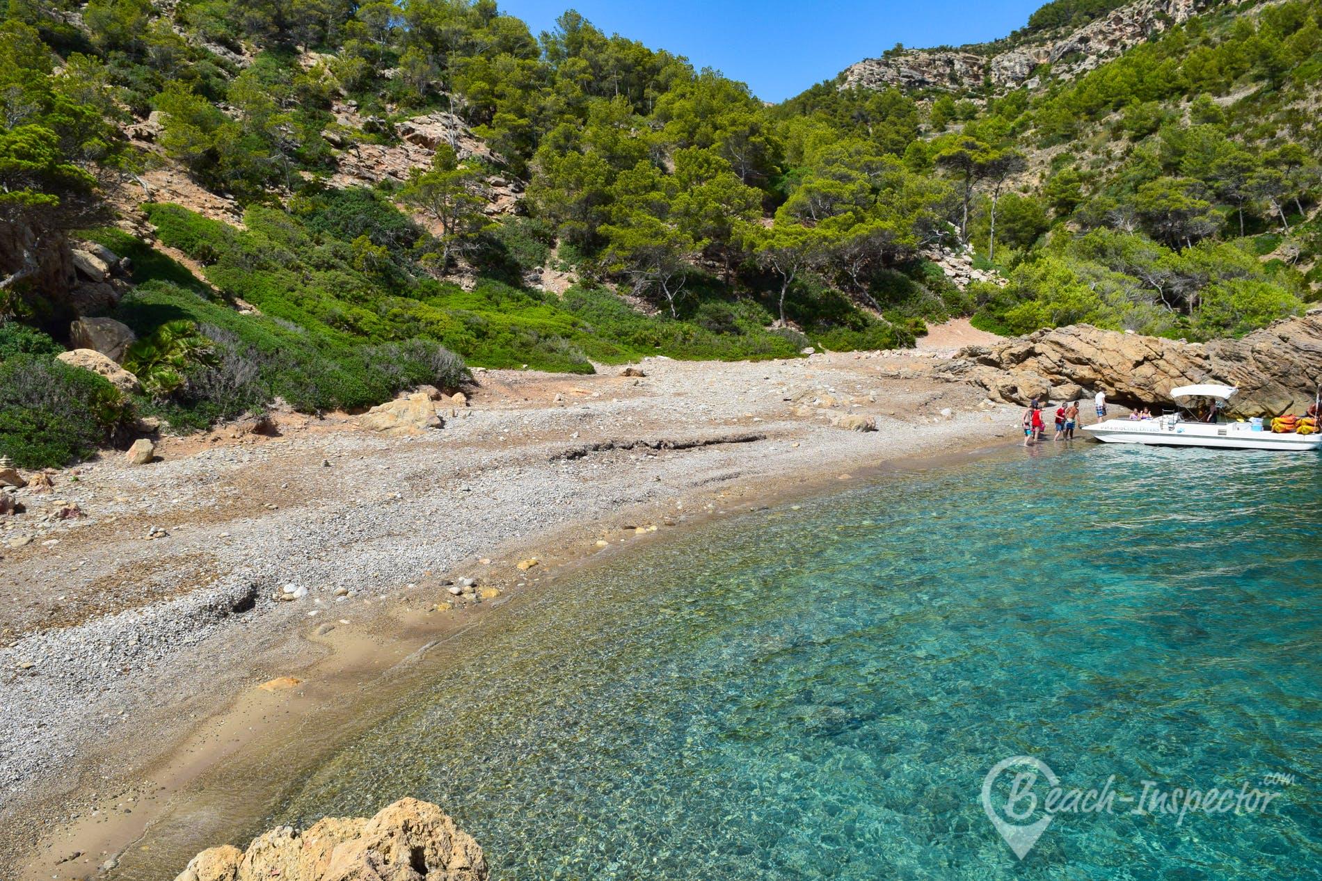 Playa Cala d'Egos, Mallorca, España