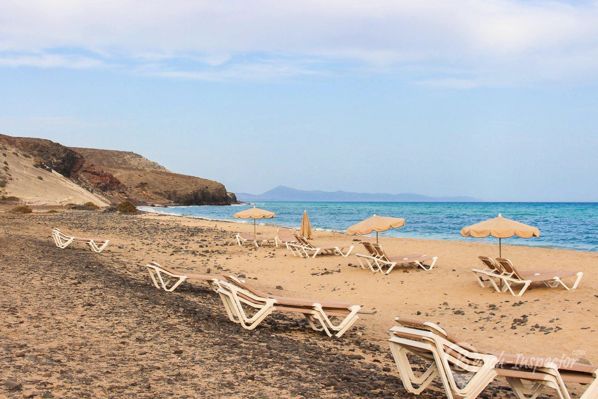 Beach Tierra Dorada, Fuerteventura, Spain