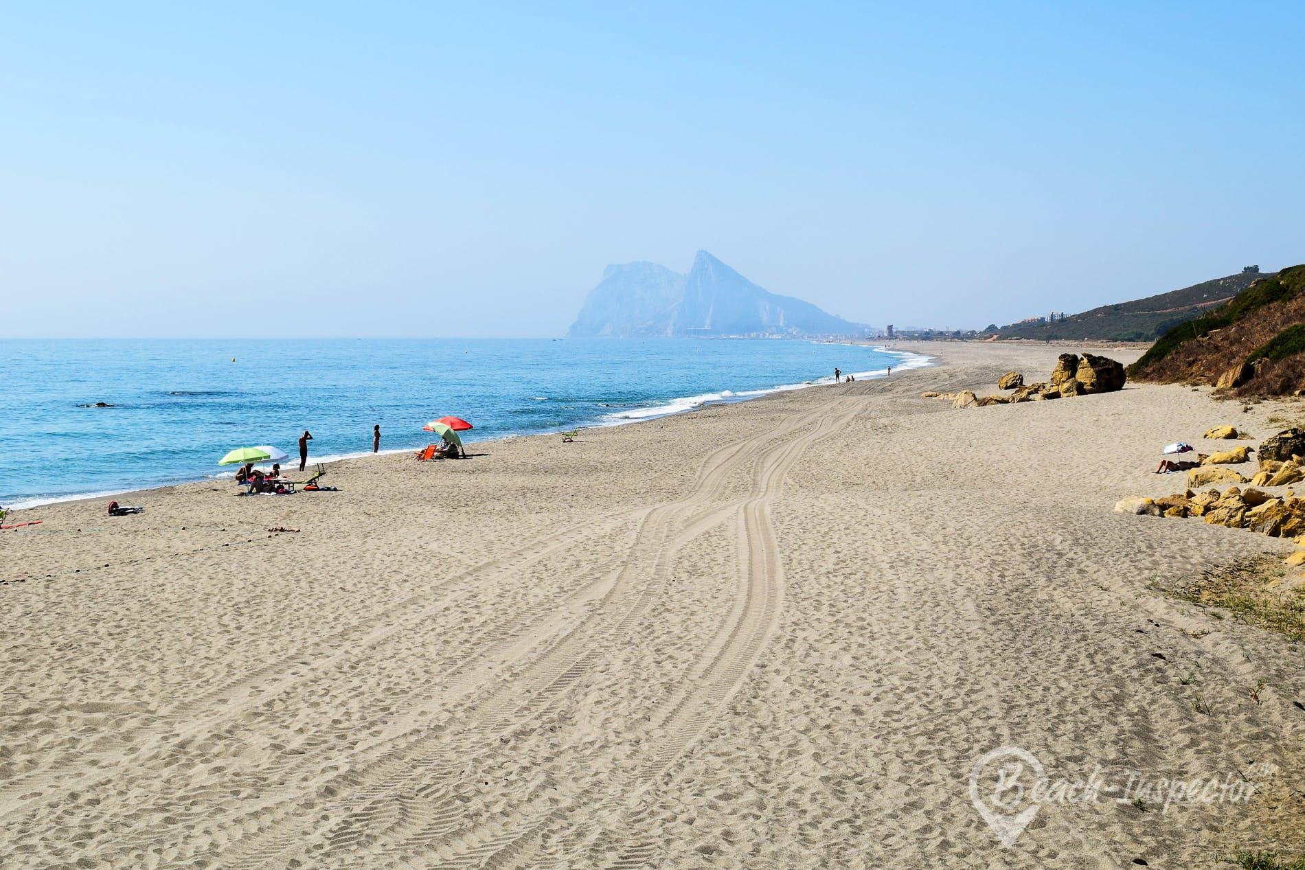 Beach Playa de La Alcaidesa, Costa del Sol, Spain