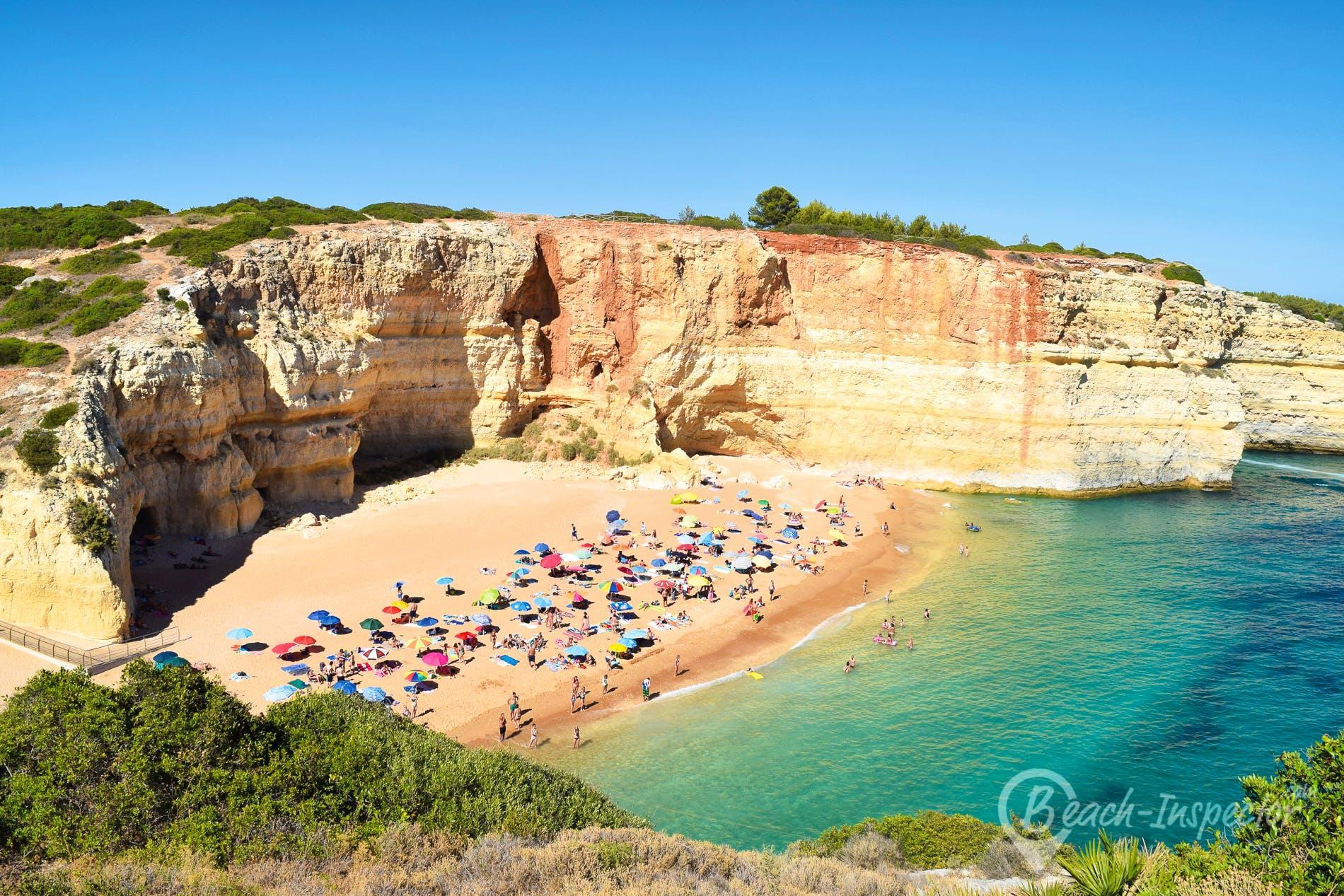 Playa Praia de Benagil, Algarve, Portugal
