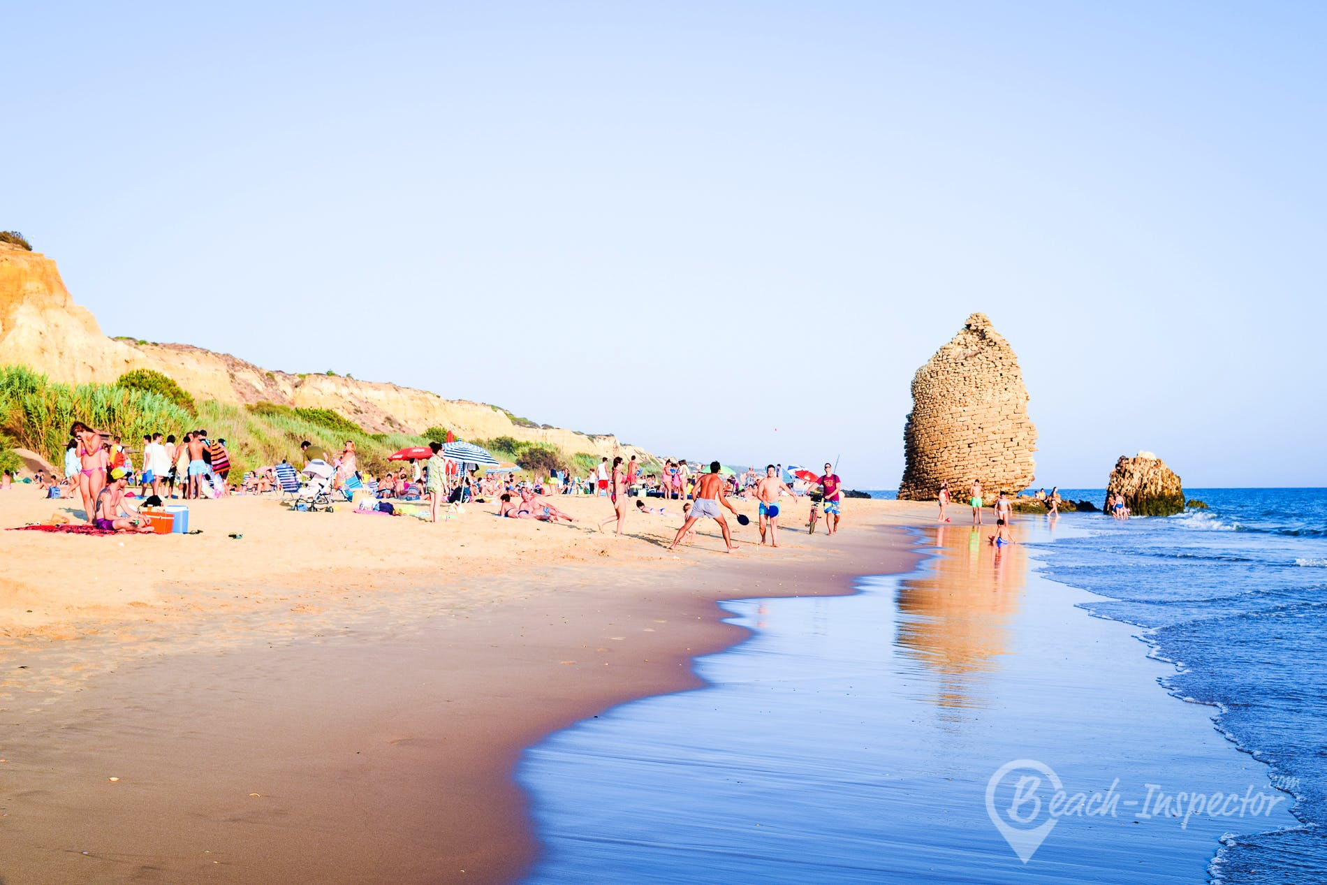 Playa Playa Torre del Loro, Costa de la Luz, España