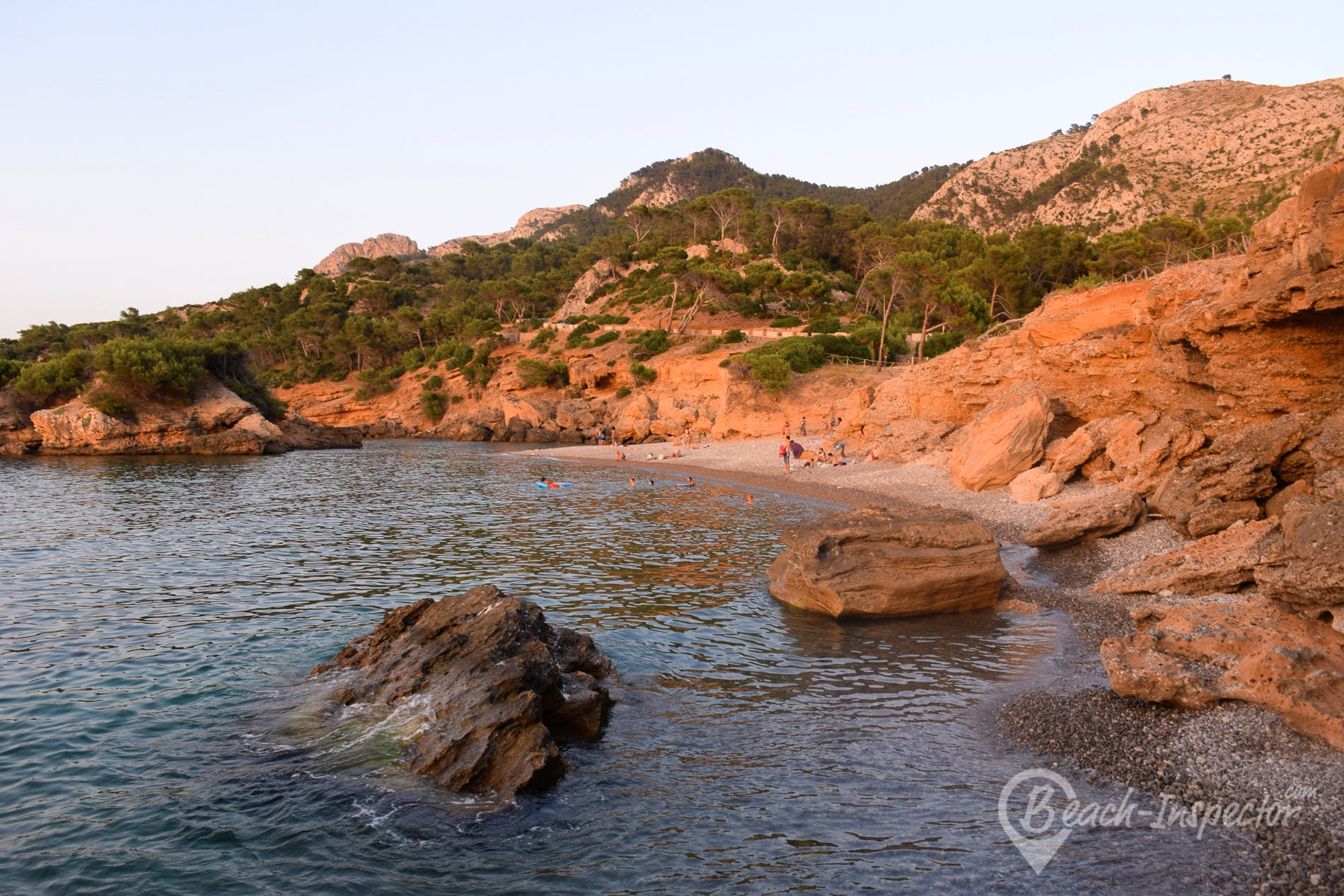 Strand Playa S'Illot, Mallorca, Spanien