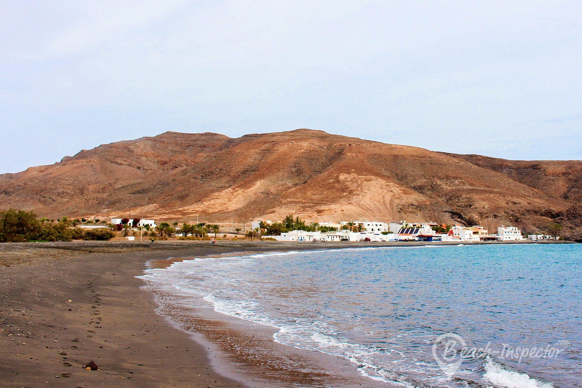 Strand Giniginamar, Fuerteventura, Spanien