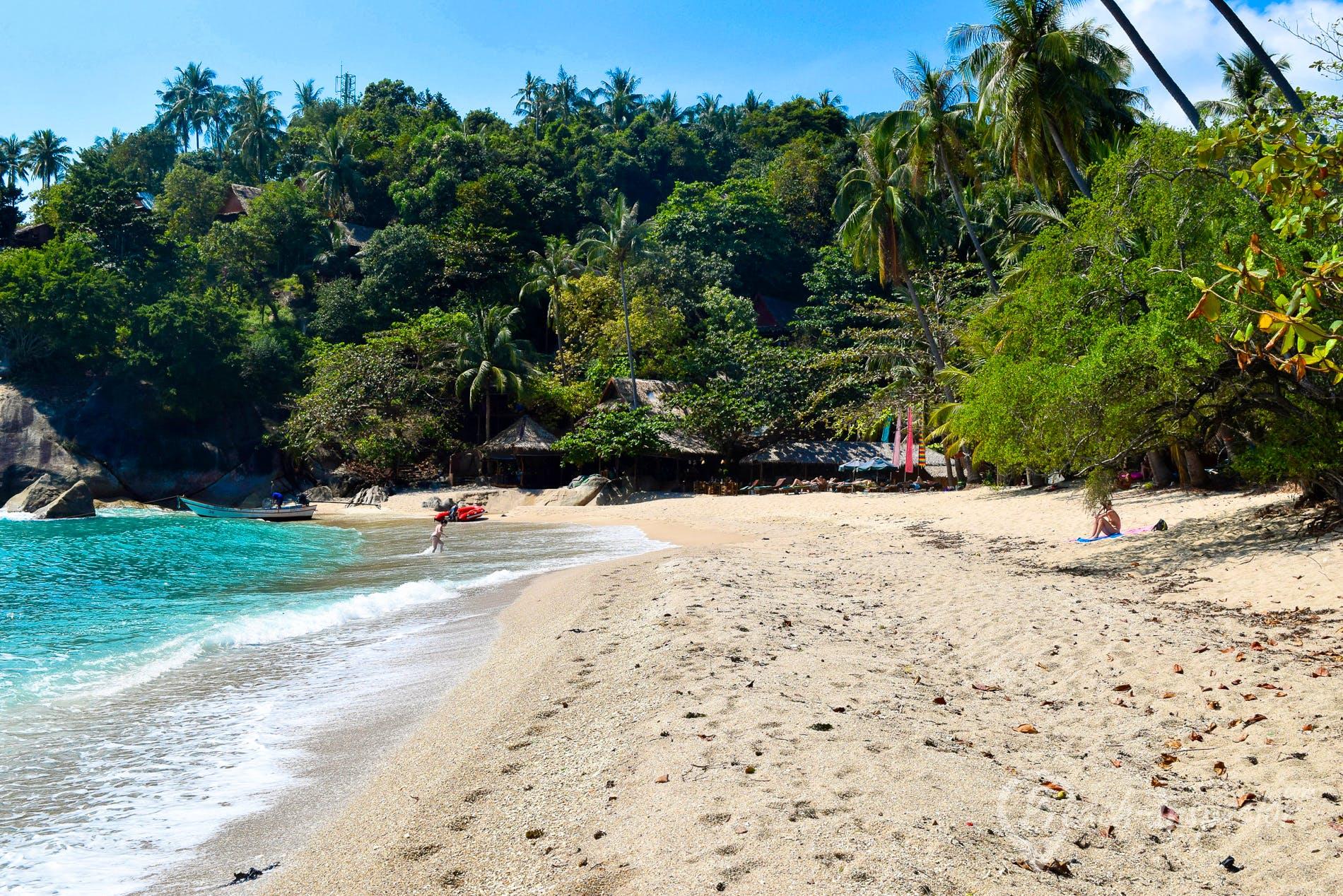 Beach Haad Tien Beach, Koh Phangan, Thailand