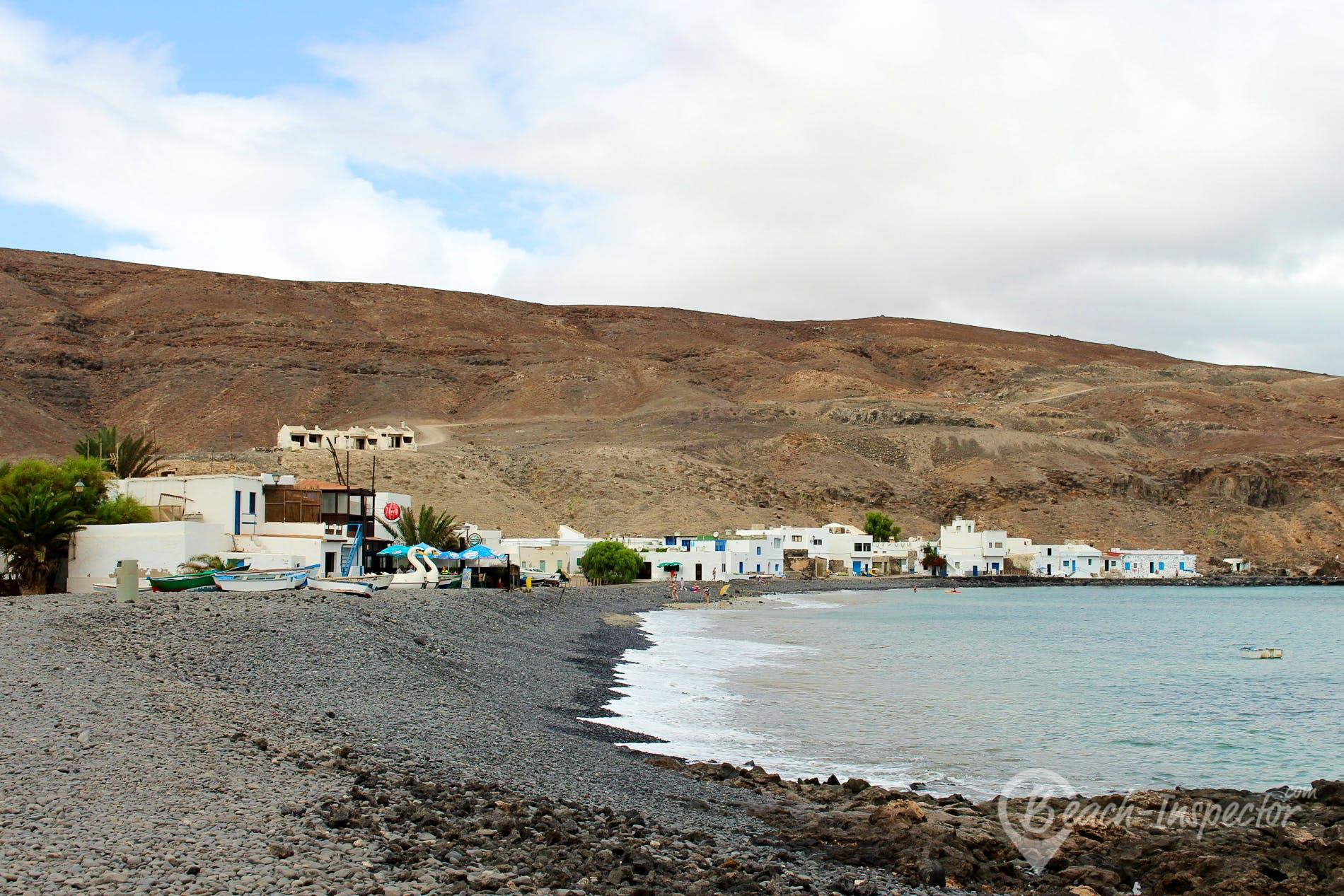 Beach Pozo Negro, Fuerteventura, Spain