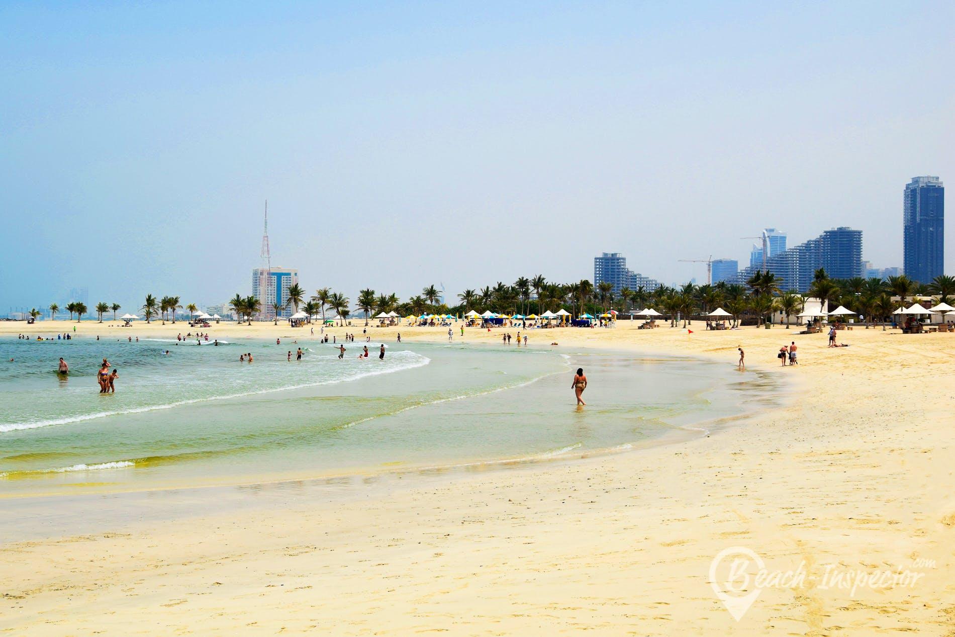 Beach Mamzar Beach Park, Dubai,