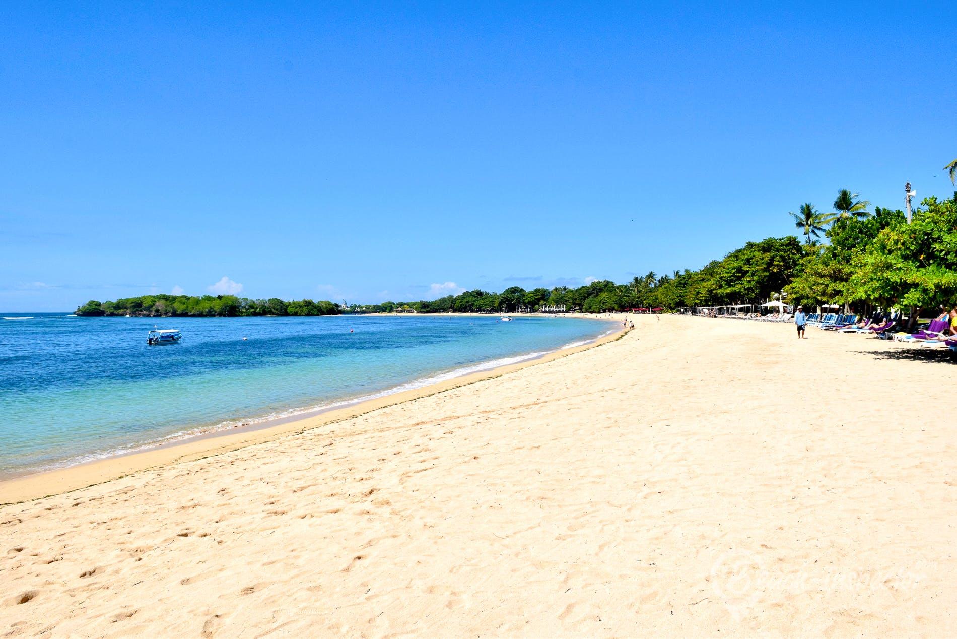 Strand Nusa Dua Beach, Bali, Indonesien