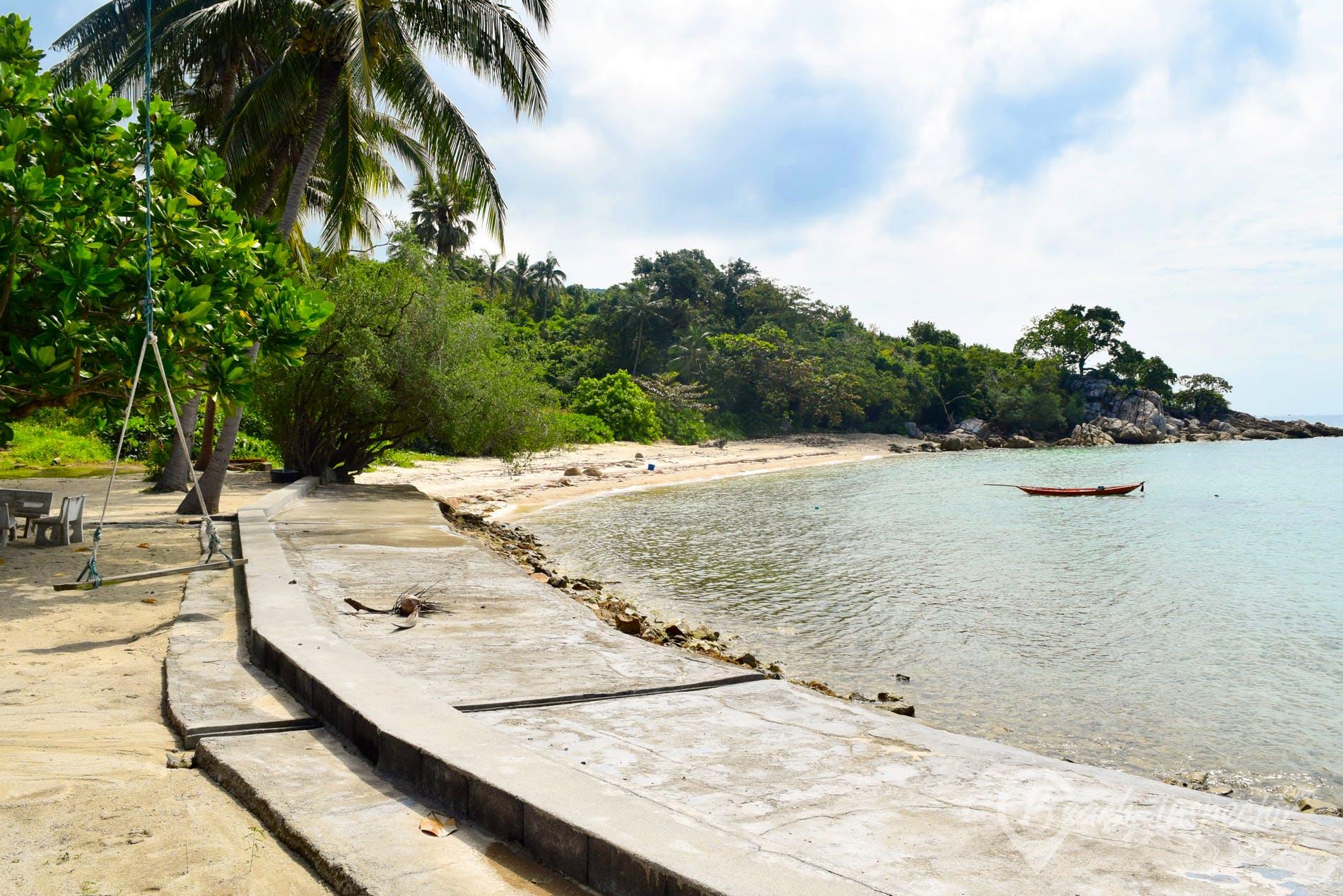 Beach Haad Tian Beach, Koh Phangan, Thailand